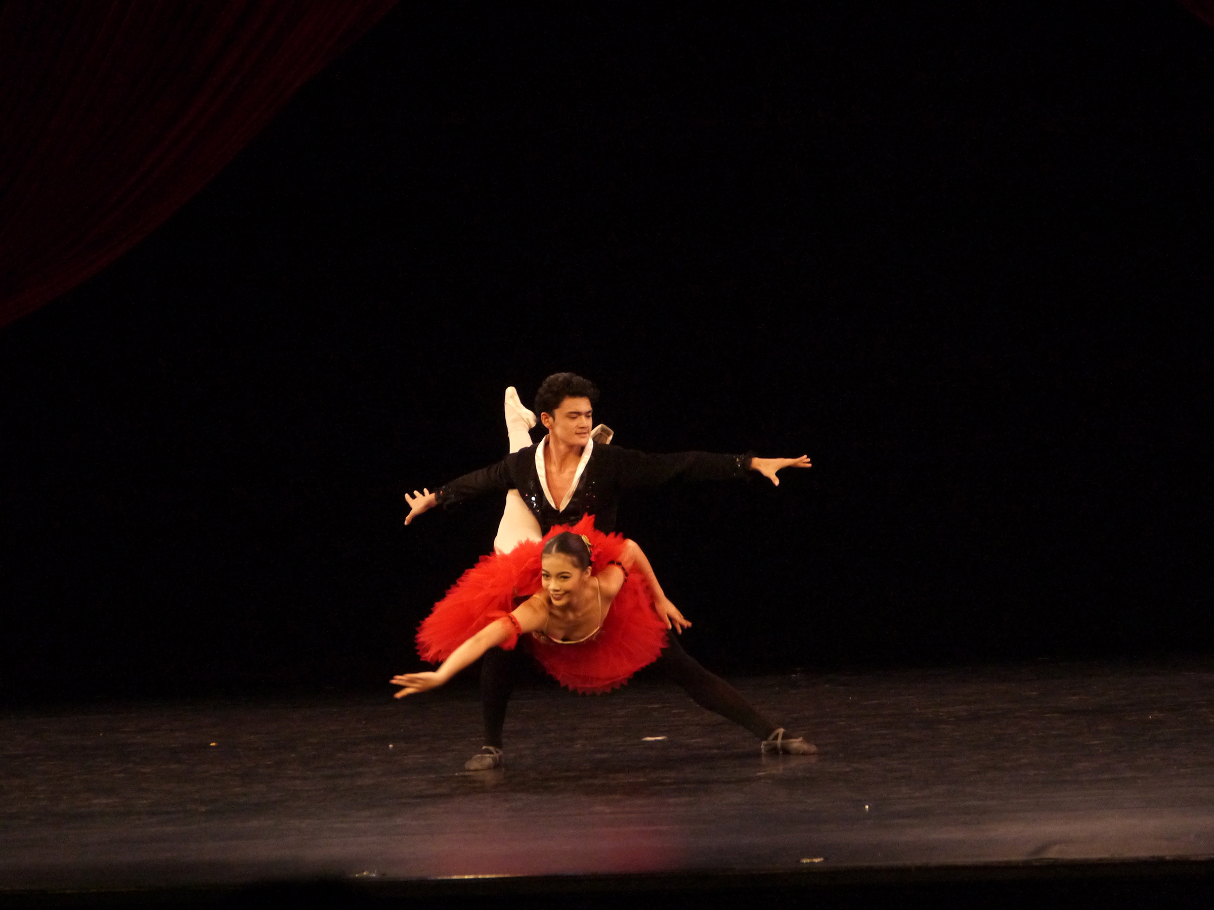 Joshua Enciso and Nicole Barroso in  Don Quixote . Photo by Giselle P. Kasilag