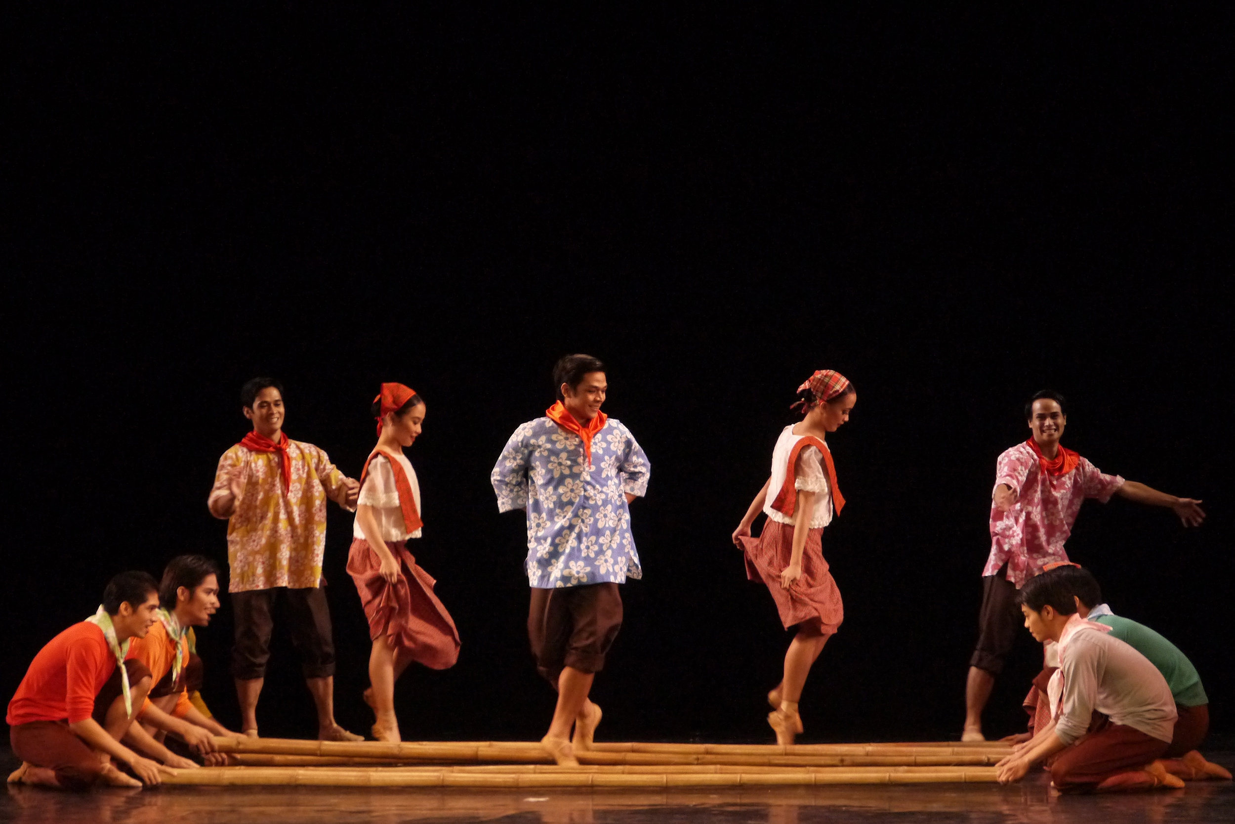 Tinikling    by Osias Barroso. Photo by Giselle P. Kasilag