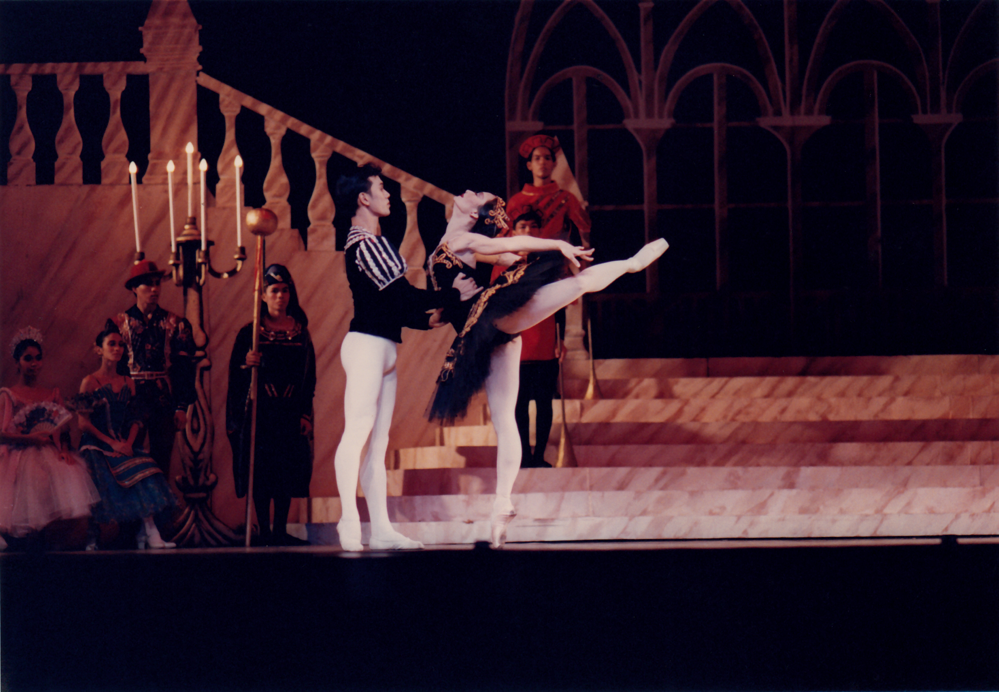 Odile is bewitching, cold, seductive and quite evil. Photo of PBT's    Swan Lake    from the Ballet Manila Archives collection