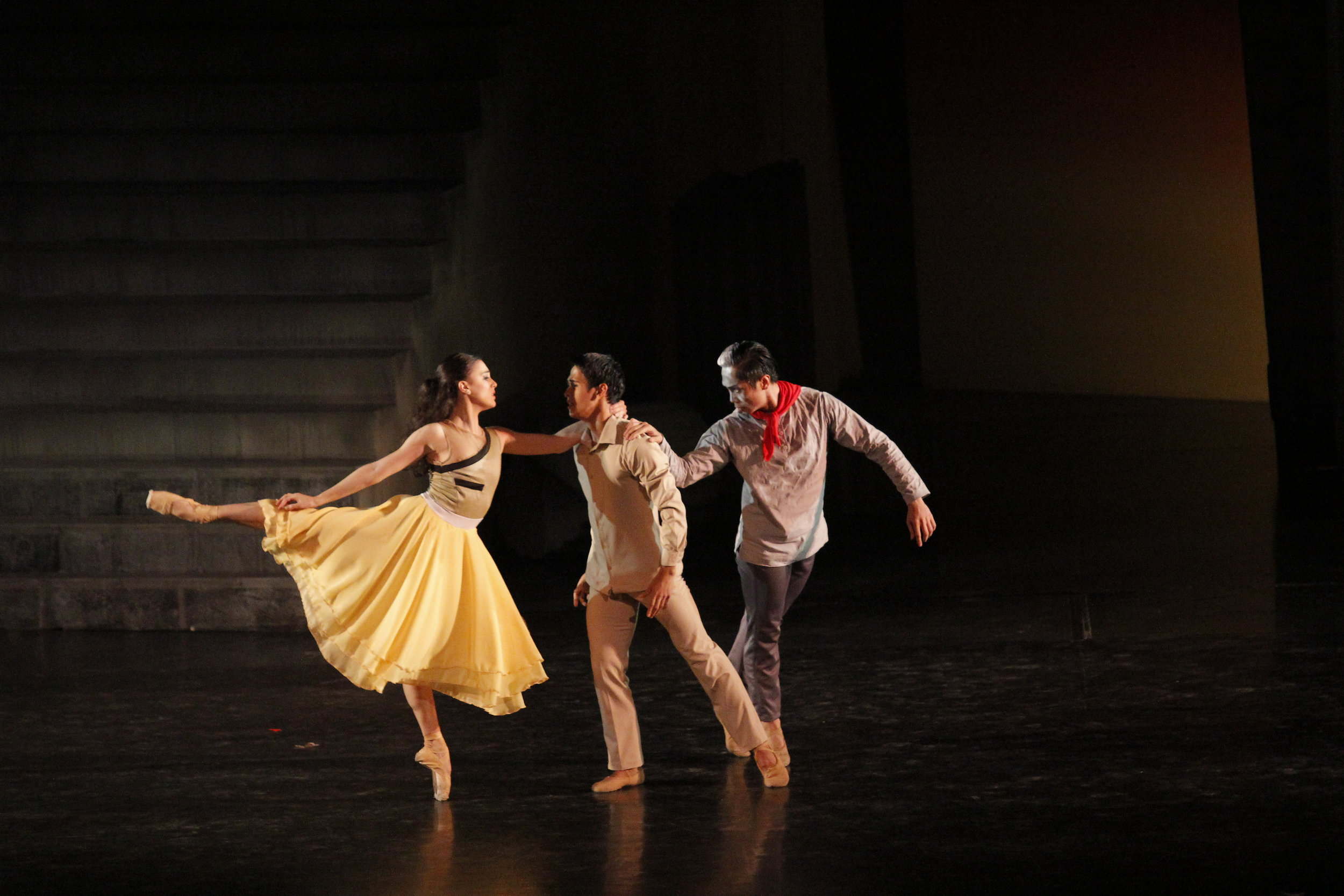 Ballet & Ballads    will feature a 30-minute excerpt from Ballet Manila's epic    Rebel   , with Katherine Barkman and Rudy De Dios dancing as Cory and Ninoy. Photo by Ocs Alvarez
