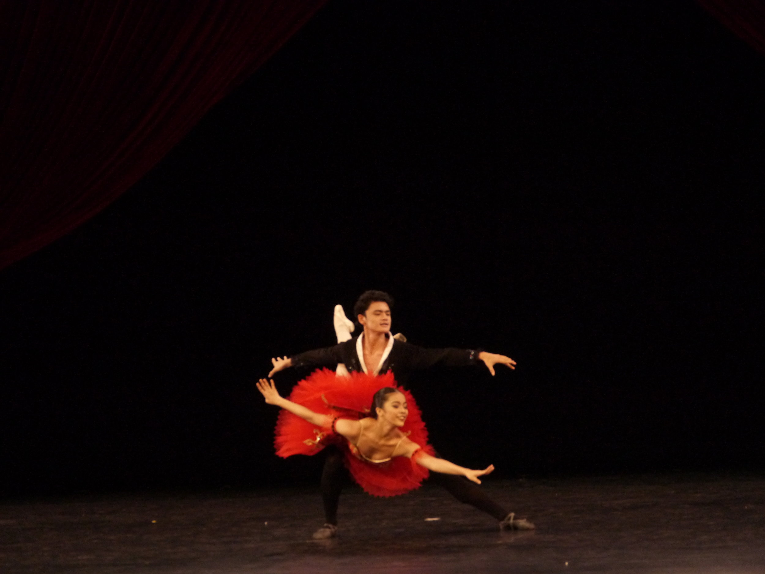 Don Quixote   , new generation: Neeka performs with Joshua Enciso. Photo by Giselle P. Kasilag