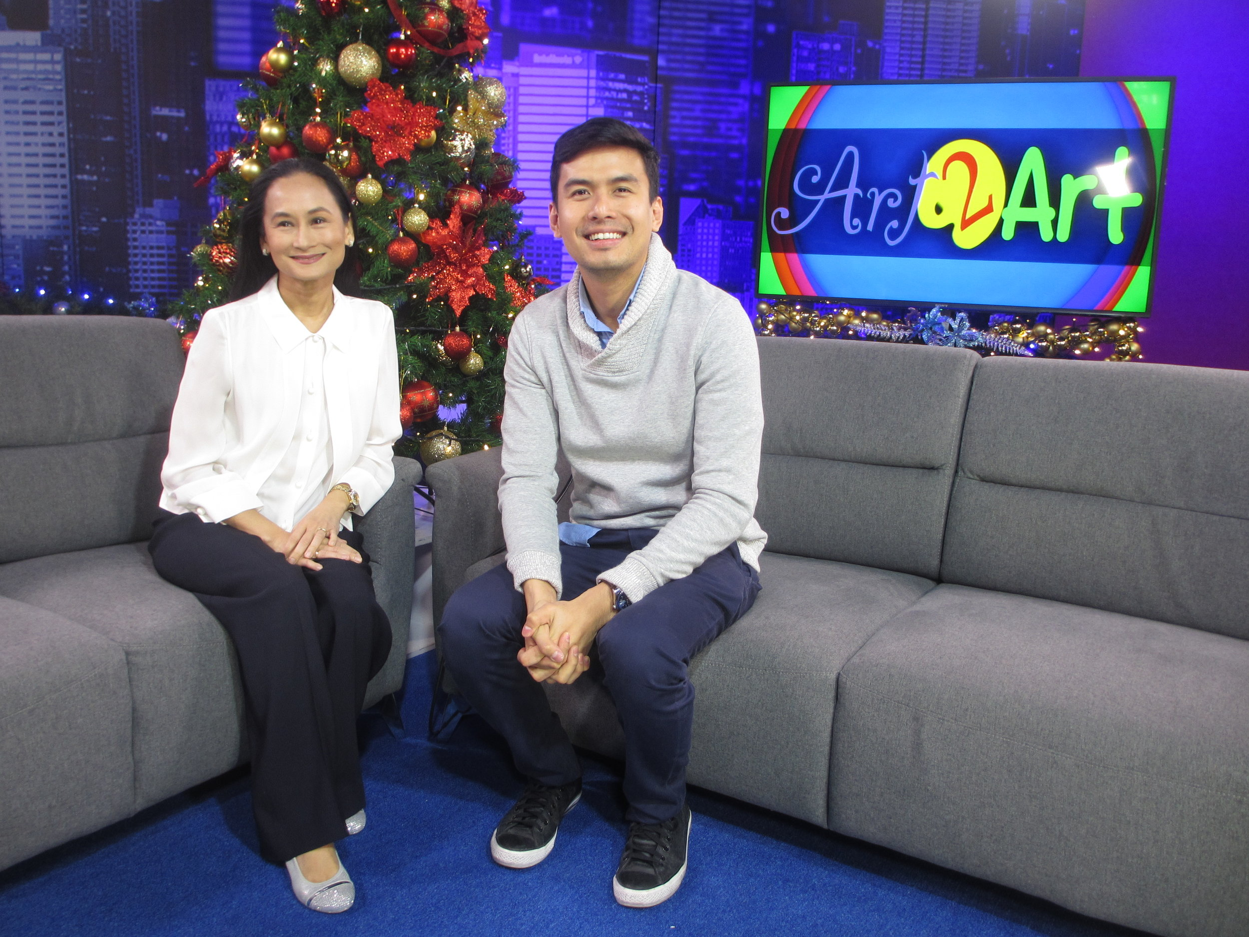 Christian Bautista recently shared his unexpected journey as a performing artist in Lisa Macuja-Elizalde's art advocacy program    Art 2 Art   . Photo by Susan A. De Guzman