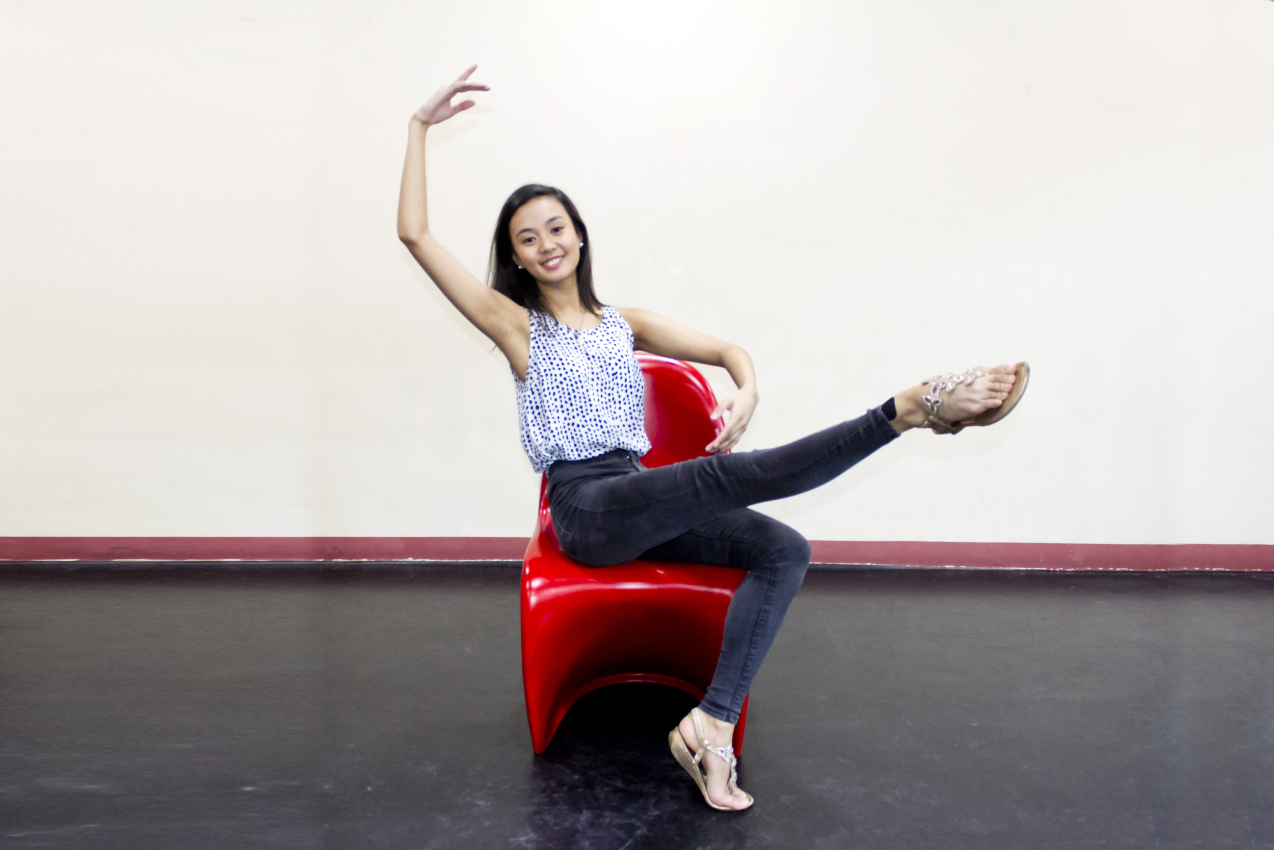 """There's a happiness that I get from ballet,"" Henriette shares. Photo by Jimmy Villanueva"