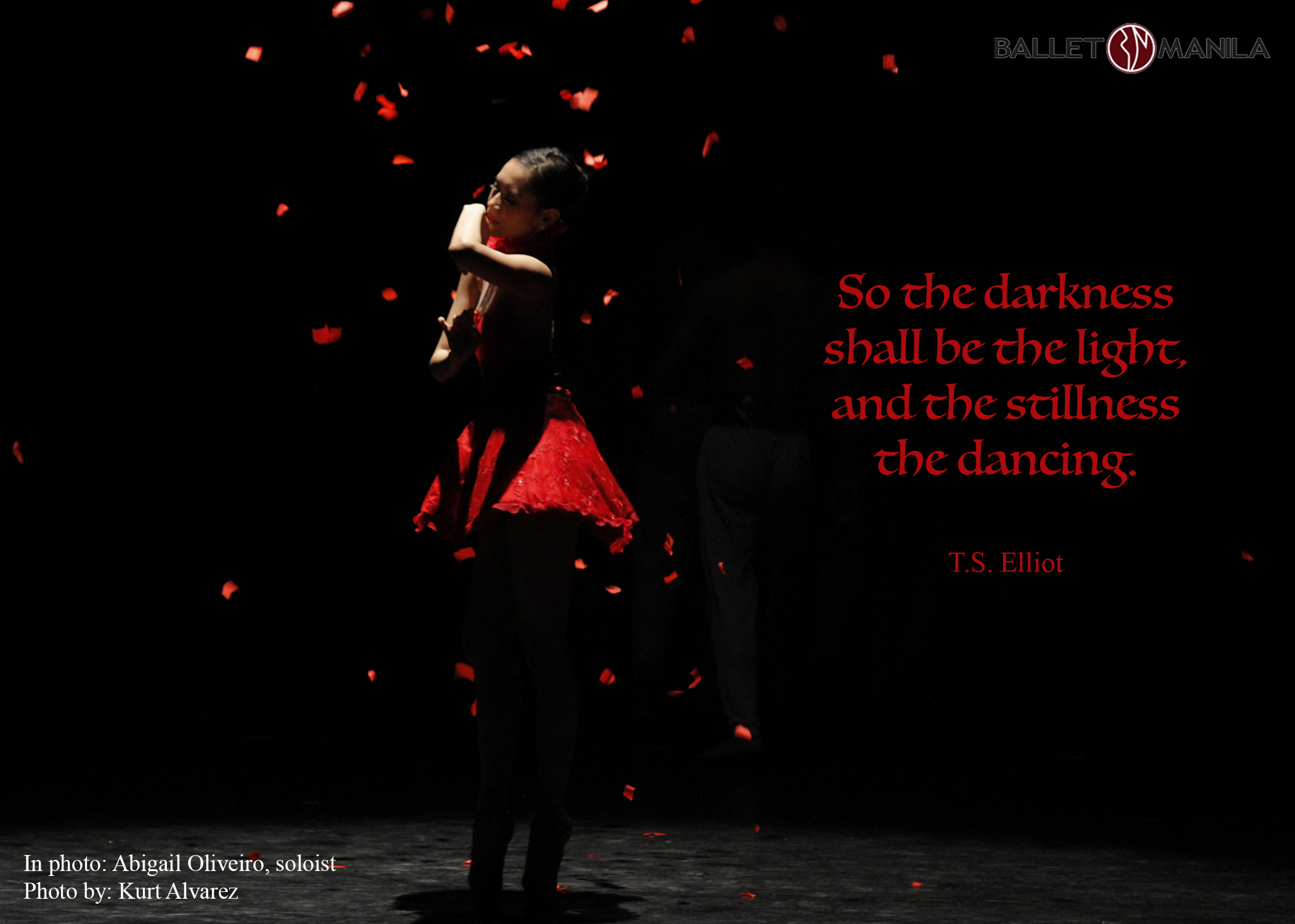 Talk about dance: TS Elliot - Ballet Manila Archives