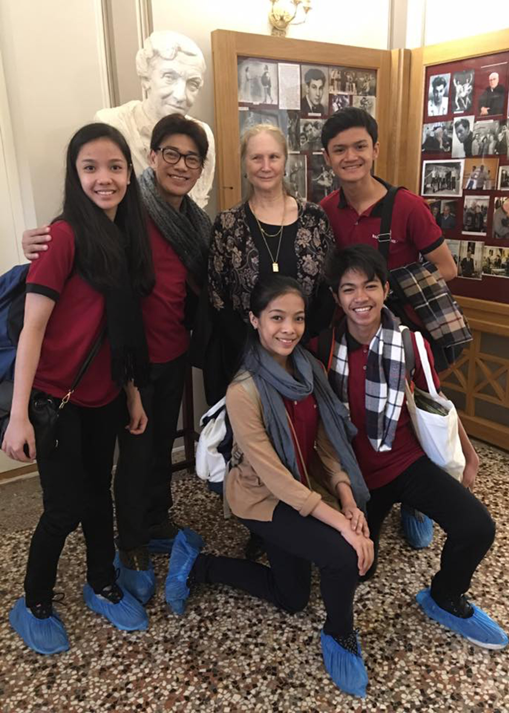 Alvin's most memorable trip was to Russia in 2016 as he and his fellow BM delegates got to meet Russian dance legend Tatiana Alexandrovna Udalenkova.