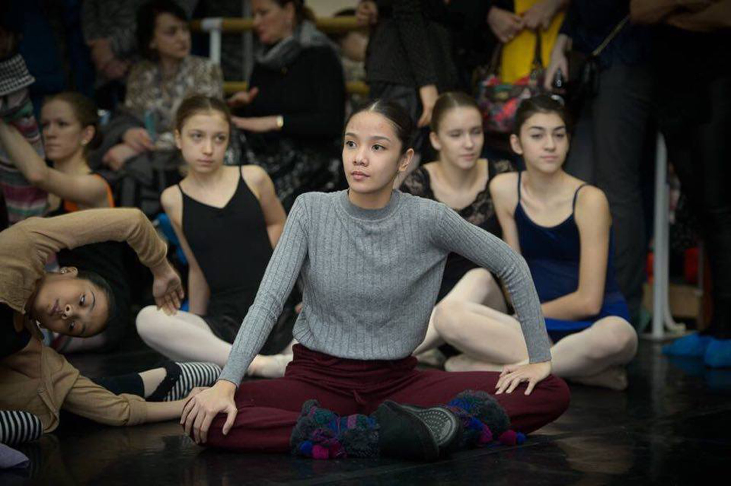 In Russia, Marinette attended dance classes and interacted with ballerinas from all over the world. Photo from Marinette Franco's Facebook page