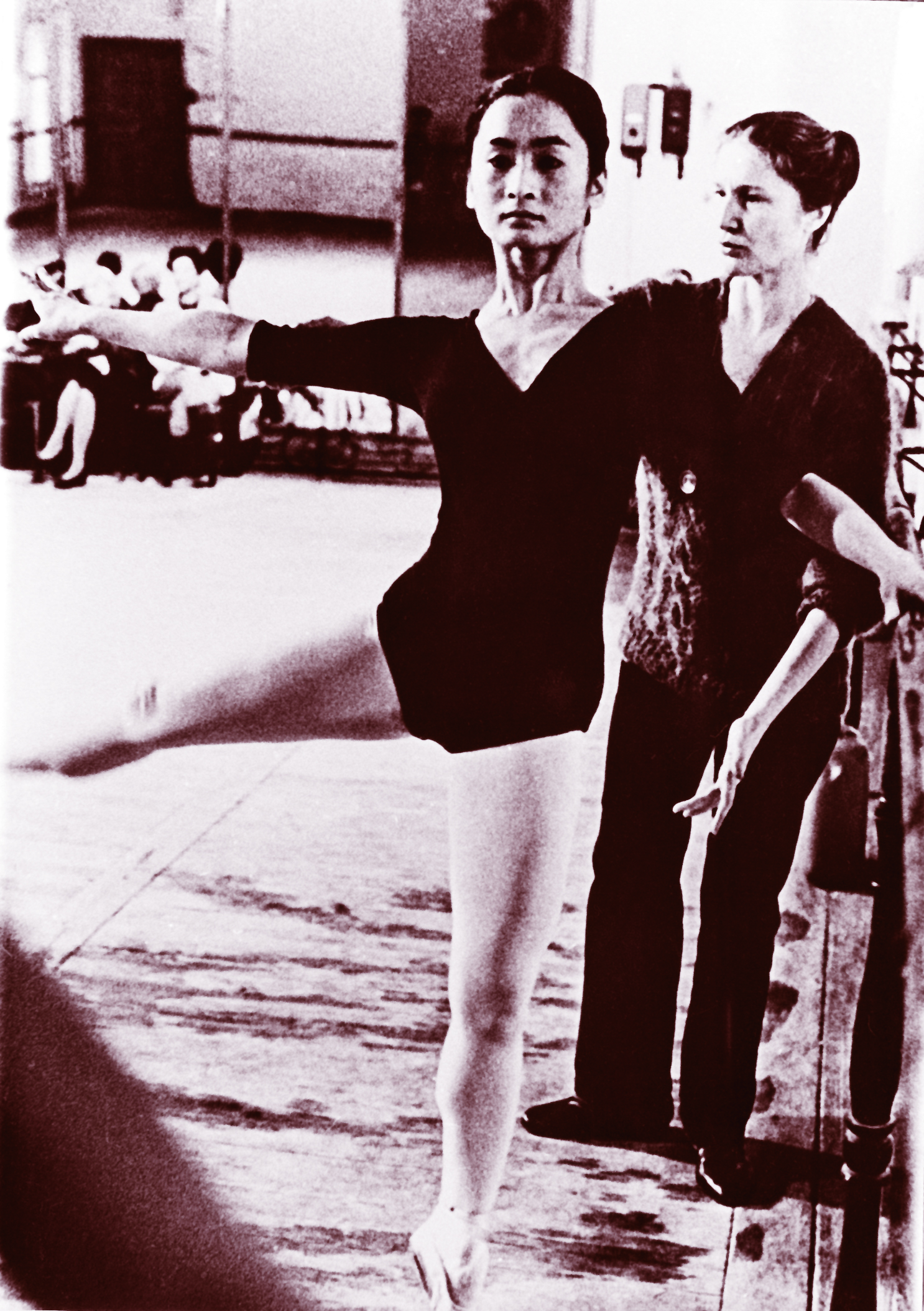 Tatiana Udalenkova spent countless hours personally mentoring Lisa – perfecting her technique until the movement flowed from her core and became second nature. Photo from the Ballet Manila Archives