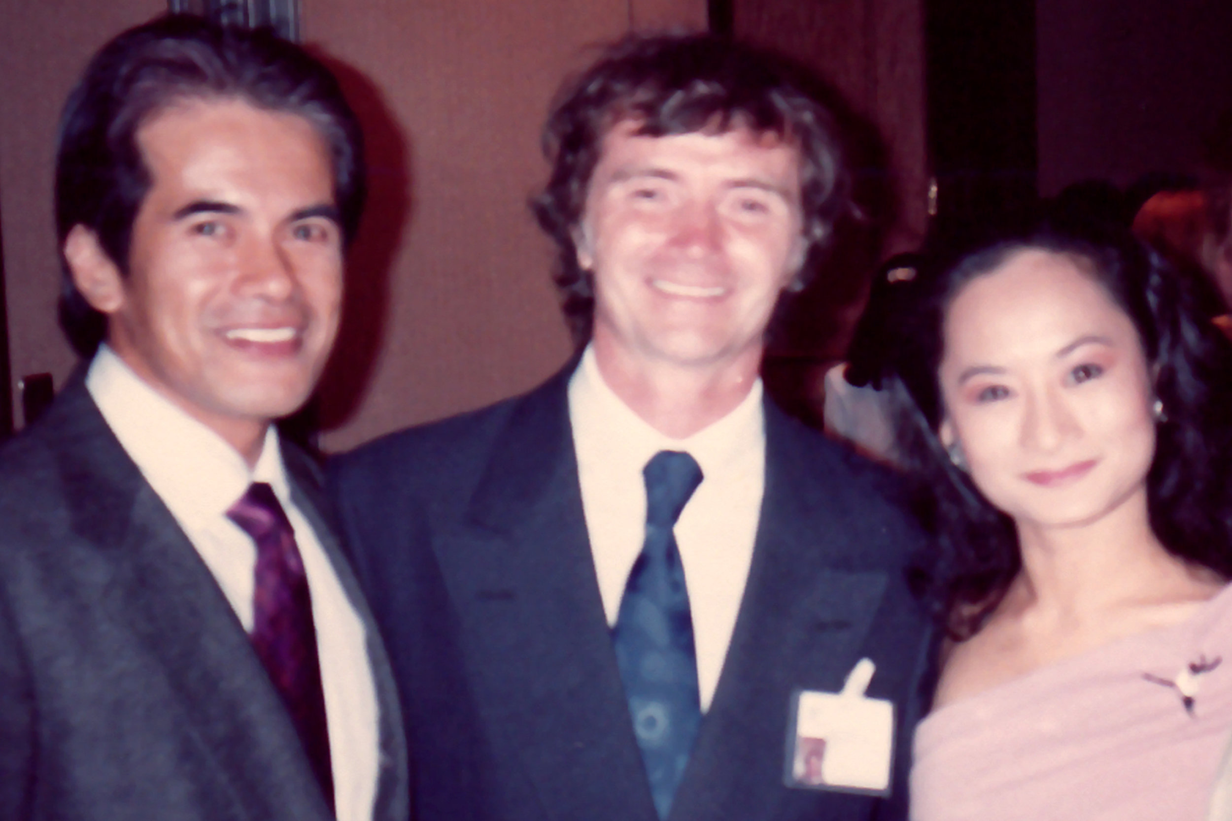 Apart from taking part in the competition itself, delegates also attend socials hosted by organizers. For Lisa, being in Jackson also meant having a reunion with Sergei Vikulov (seen here between her and Nonoy Froilan), who became like a second father to her in Russia. His wife, Tatiana Udalenkova, was Lisa's mentor at the Leningrad Choreographic Institute. Sergei, who is a People's Artist of Russia, was among the esteemed personalities that conducted classes for students and teachers as part of the International Dance School in the USA IBC.