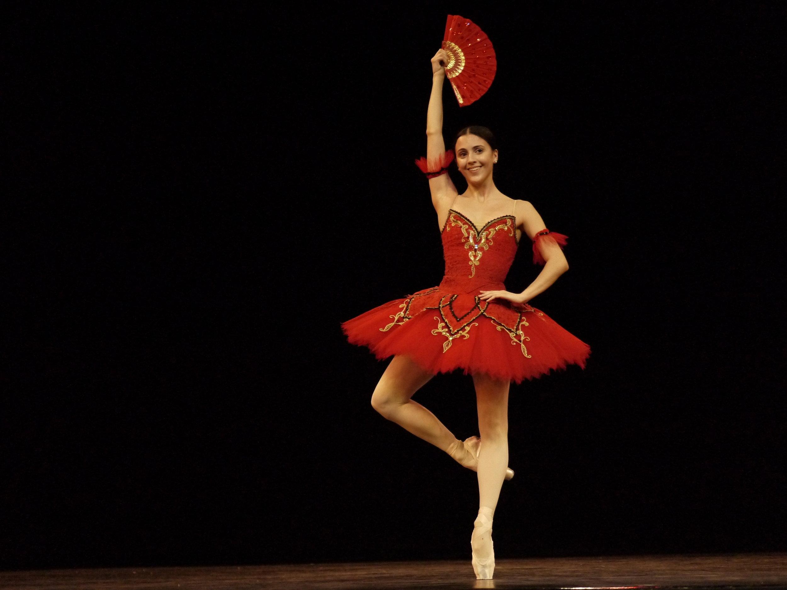 Katherine Barkman, resident guest principal artist of Ballet Manila