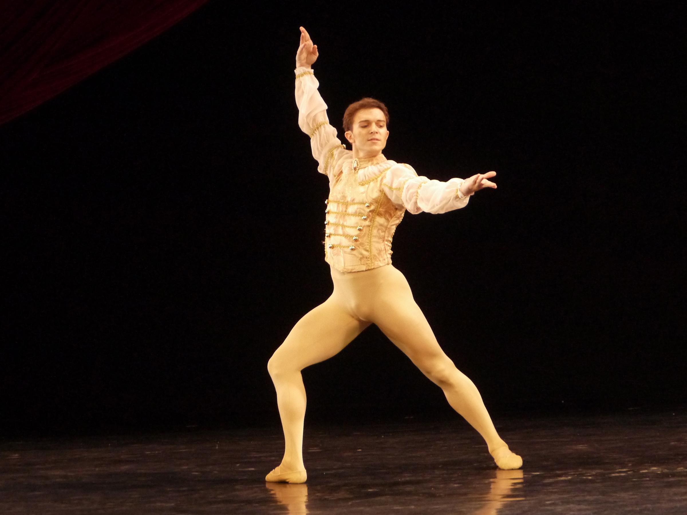 Joseph Phillips, resident guest principal artist of Ballet Manila