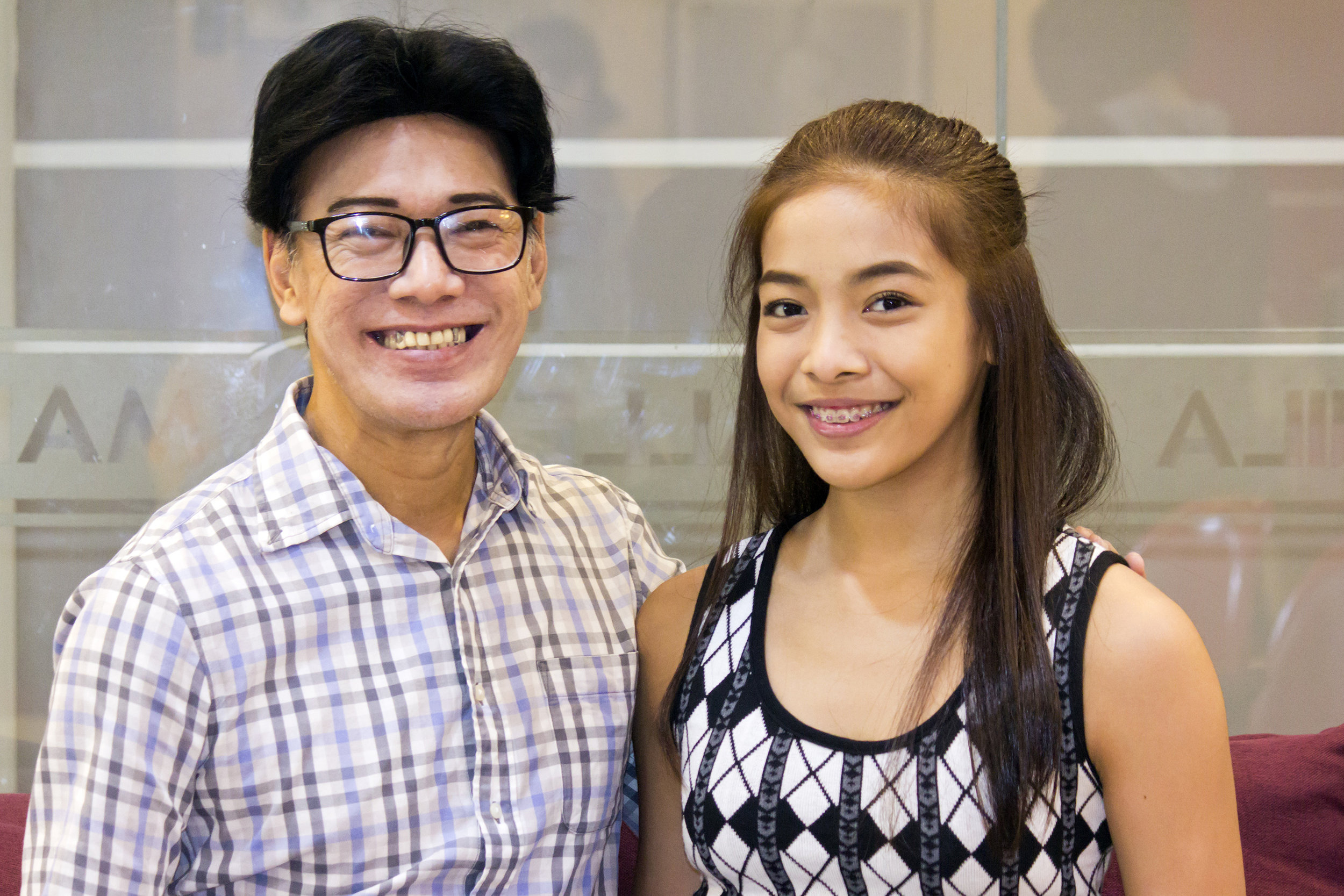 Nicole gets her ballet genes and training from her uncle and mentor, Ballet Manila co-artistic director Osias Barroso, who is also her coach for the USA IBC. Photo by Jimmy Villanueva