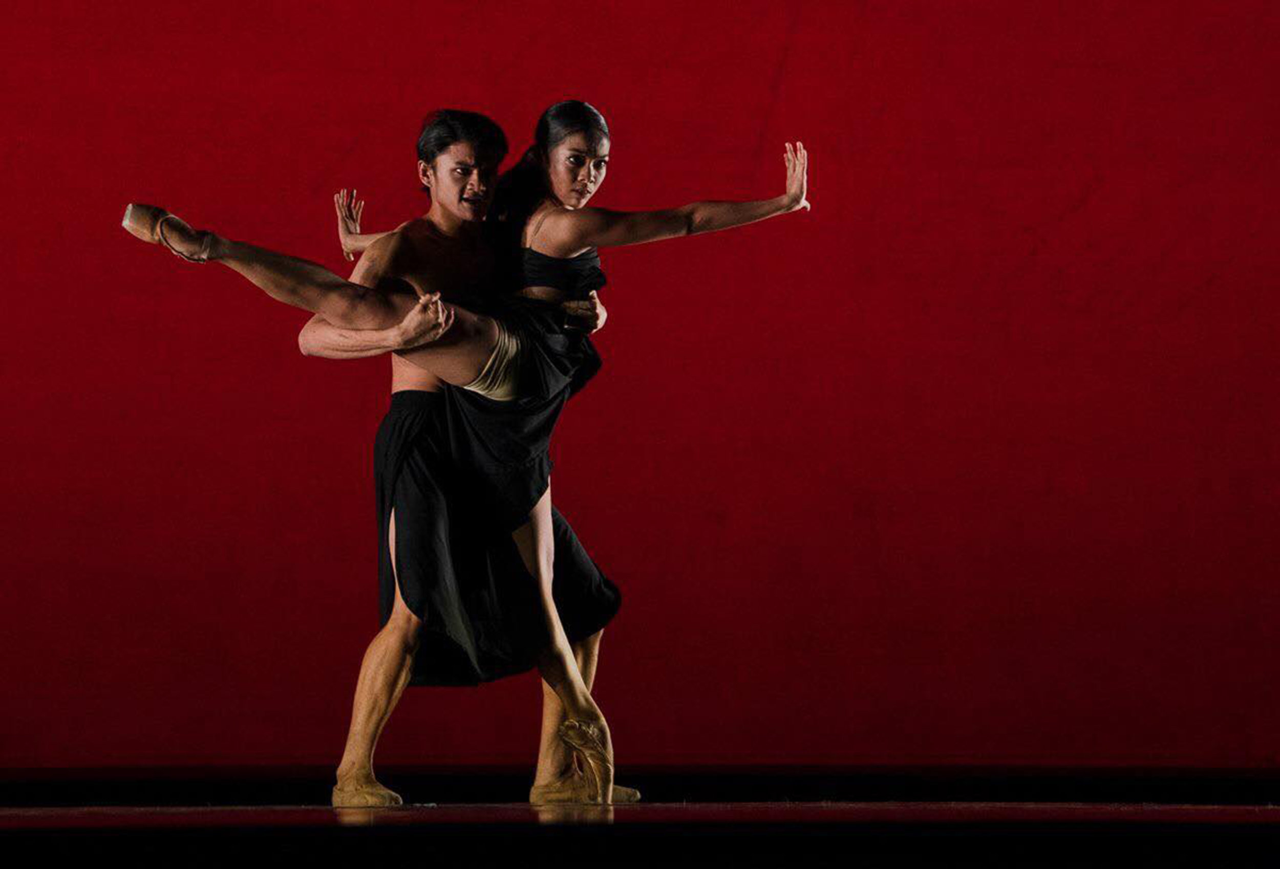 Nicole Barroso and Joshua Enciso's powerful performance of    Fuga    at the USA International Ballet Competition is said to have brought the house down in Jackson, Mississippi. Photo by Richard Finkelstein, courtesy of USA IBC
