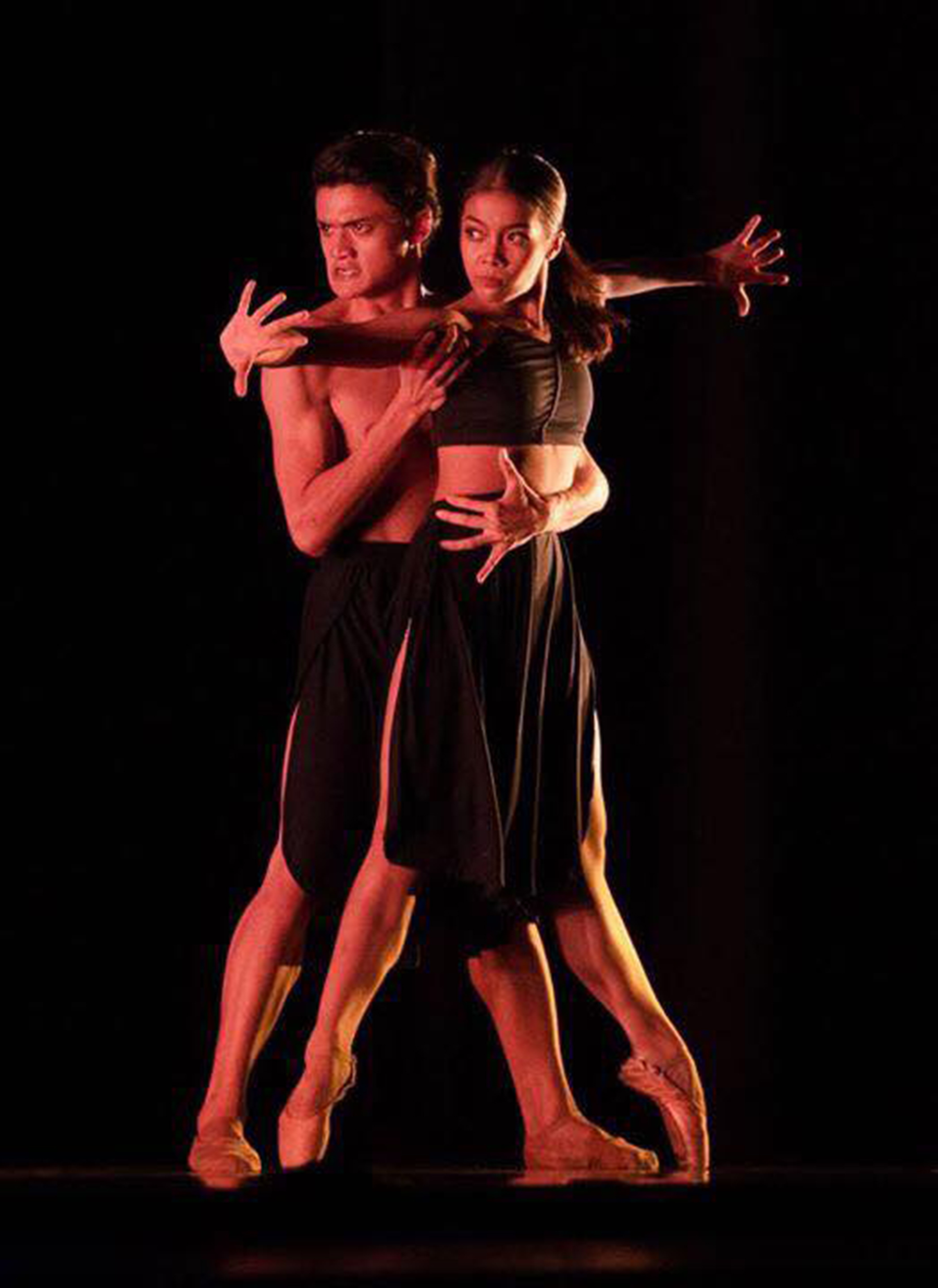 Nicole says she and Joshua just put their hearts into the performance, to give justice to the choreography. Photo by Richard Finkelstein, courtesy of USA IBC