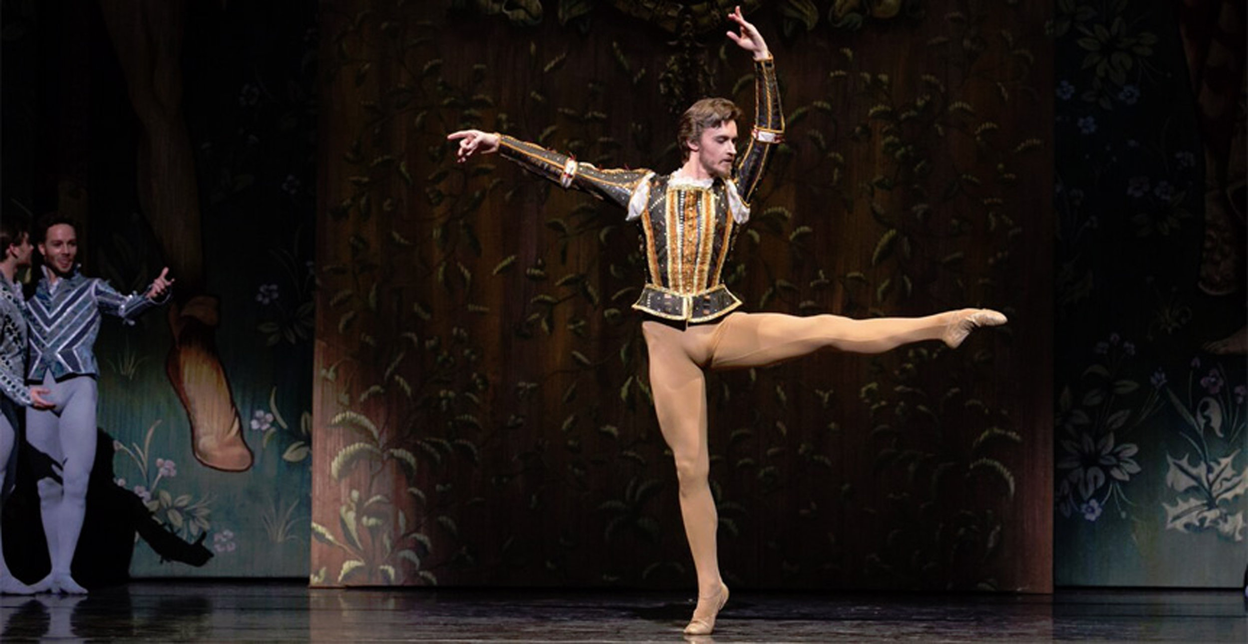 Houston Ballet principal dancer Jared Matthews loves transporting the audience to an imaginary place through dance. Photo courtesy of Houston Ballet