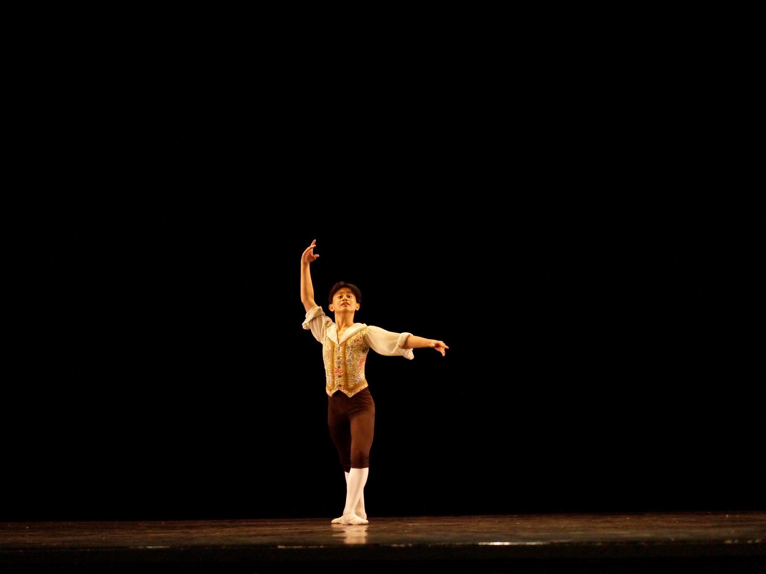Carl Daniel Doromal – Junior A; Franz (   Coppelia   ). Photo by Giselle P. Kasilag