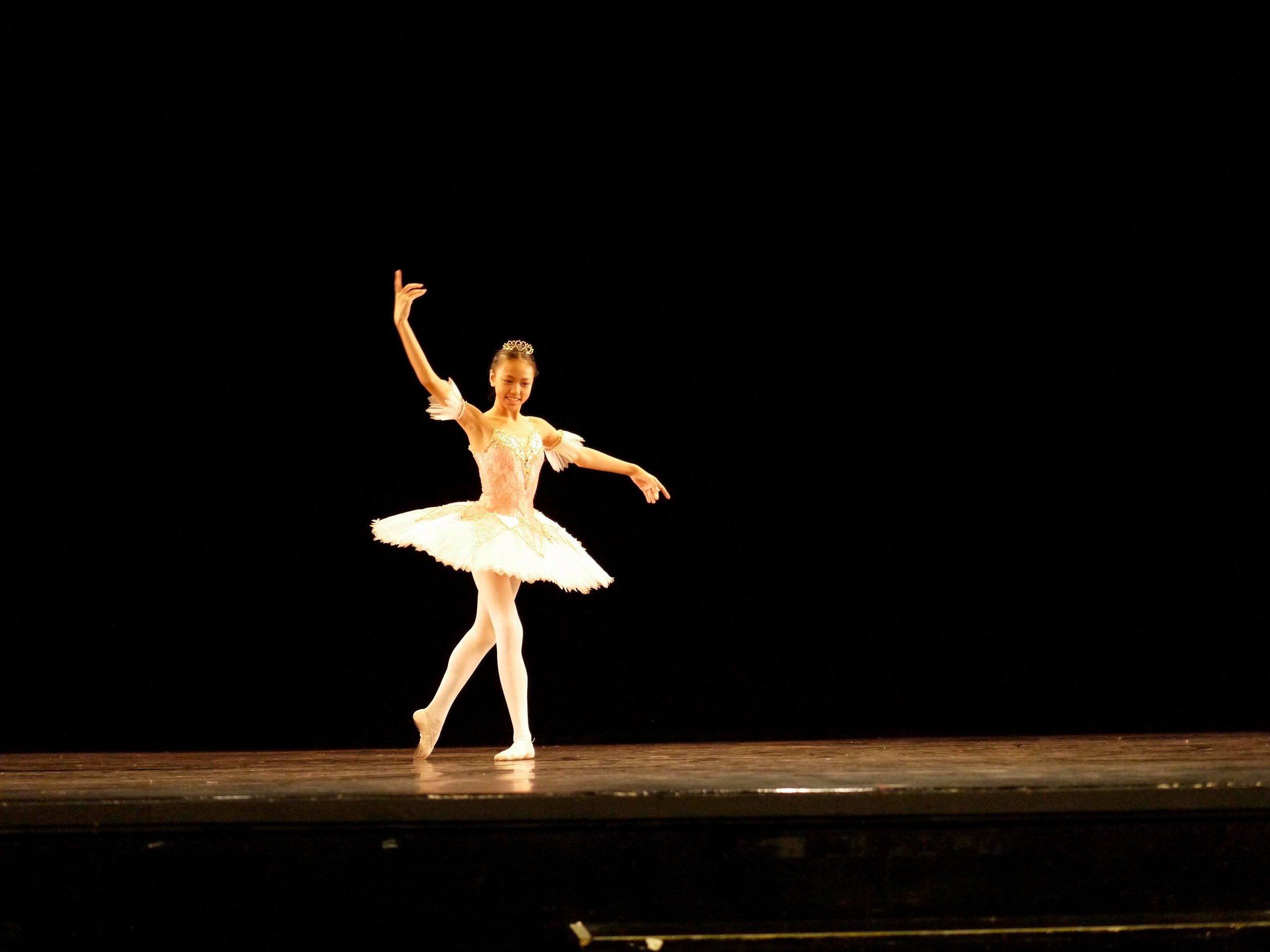 Loraine Gaile Jarlega – Pre-Competitive 3; Fairy Fleur de Farine     ( Sleeping Beauty ). Photo by Giselle P. Kasilag