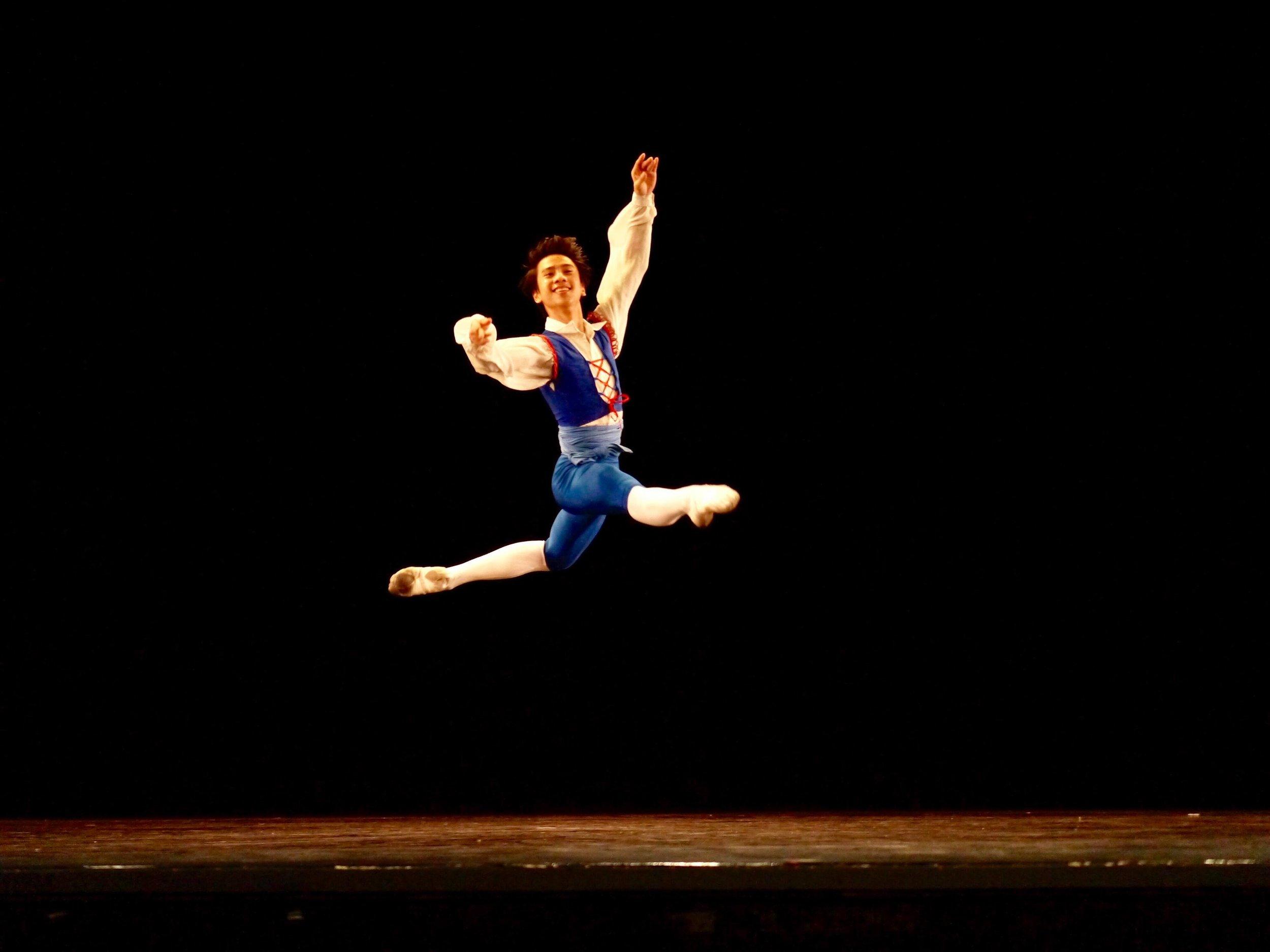 Brian Sevilla – Junior B; Franz (   Coppelia   ). Photo by Giselle P. Kasilag