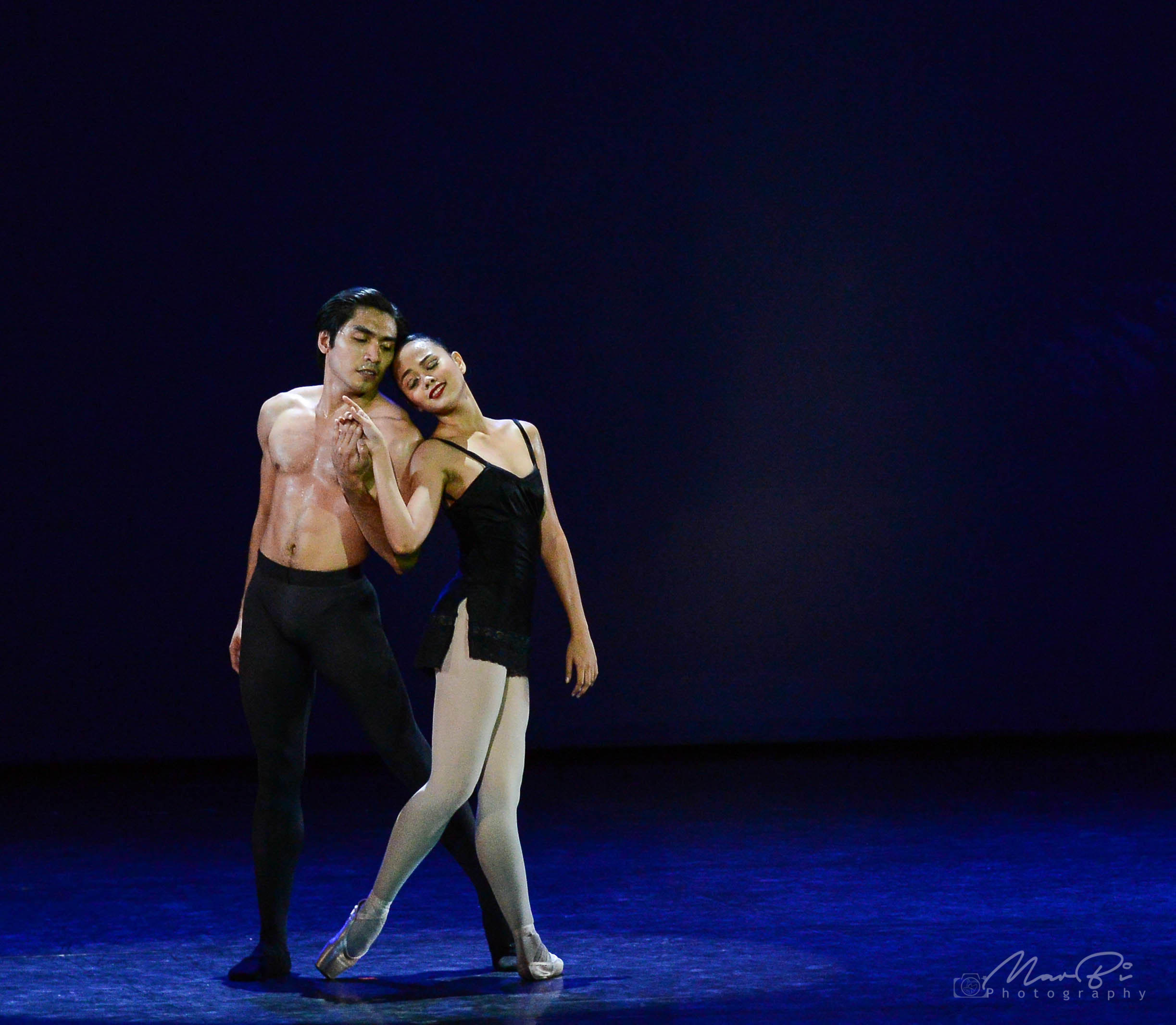 Rissa May is thankful that her Don Jose, principal dancer Romeo Peralta, helped her every step of the way until Carmen fit her like a second skin. Photo by MarBi Photography