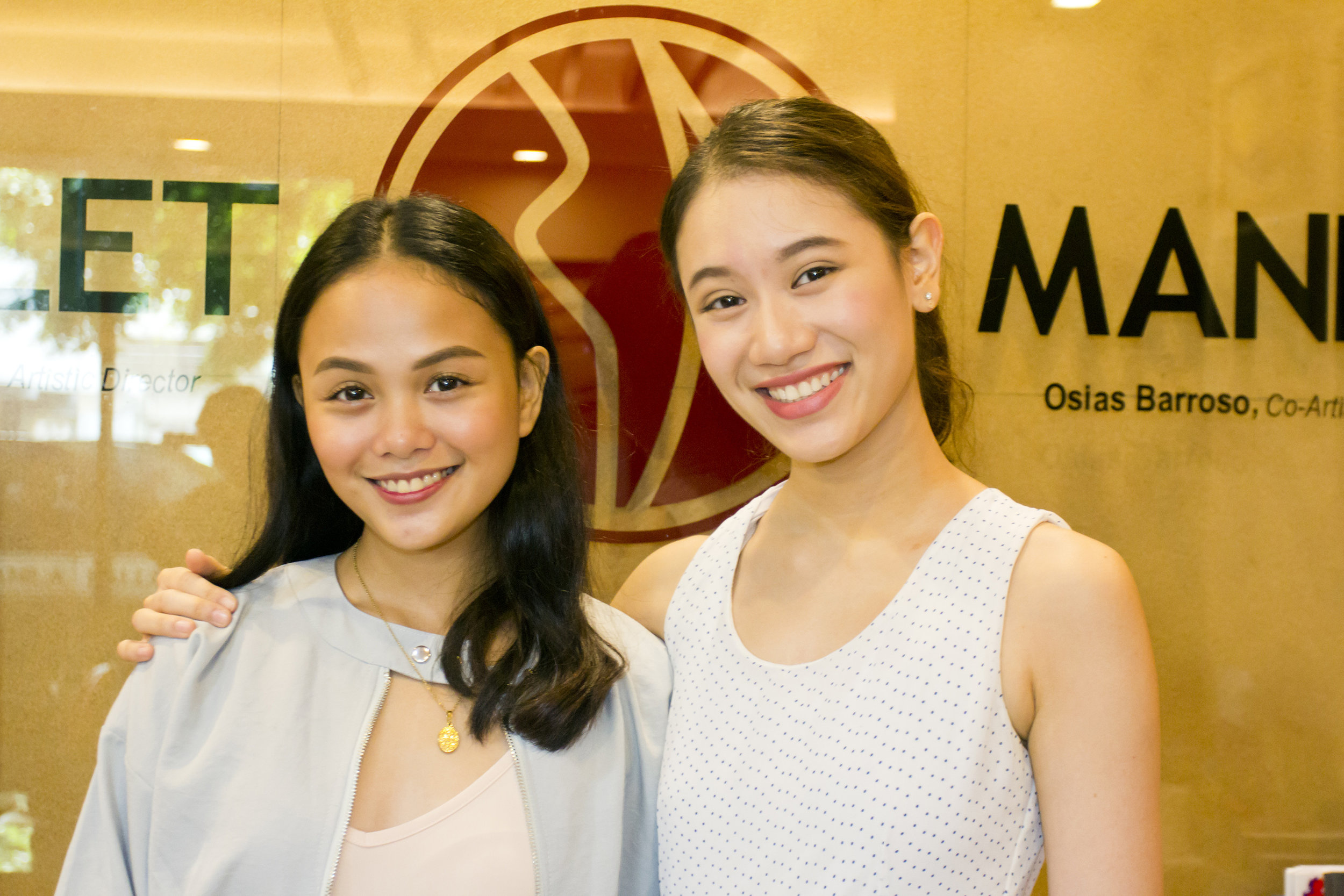 While both are satisfied with their respective performances as Carmen and are willing to play her again, Abi and Rissa May jokingly hope it won't be anytime soon because of the emotional intensity the role entailed. Photo by Jimmy Villanueva