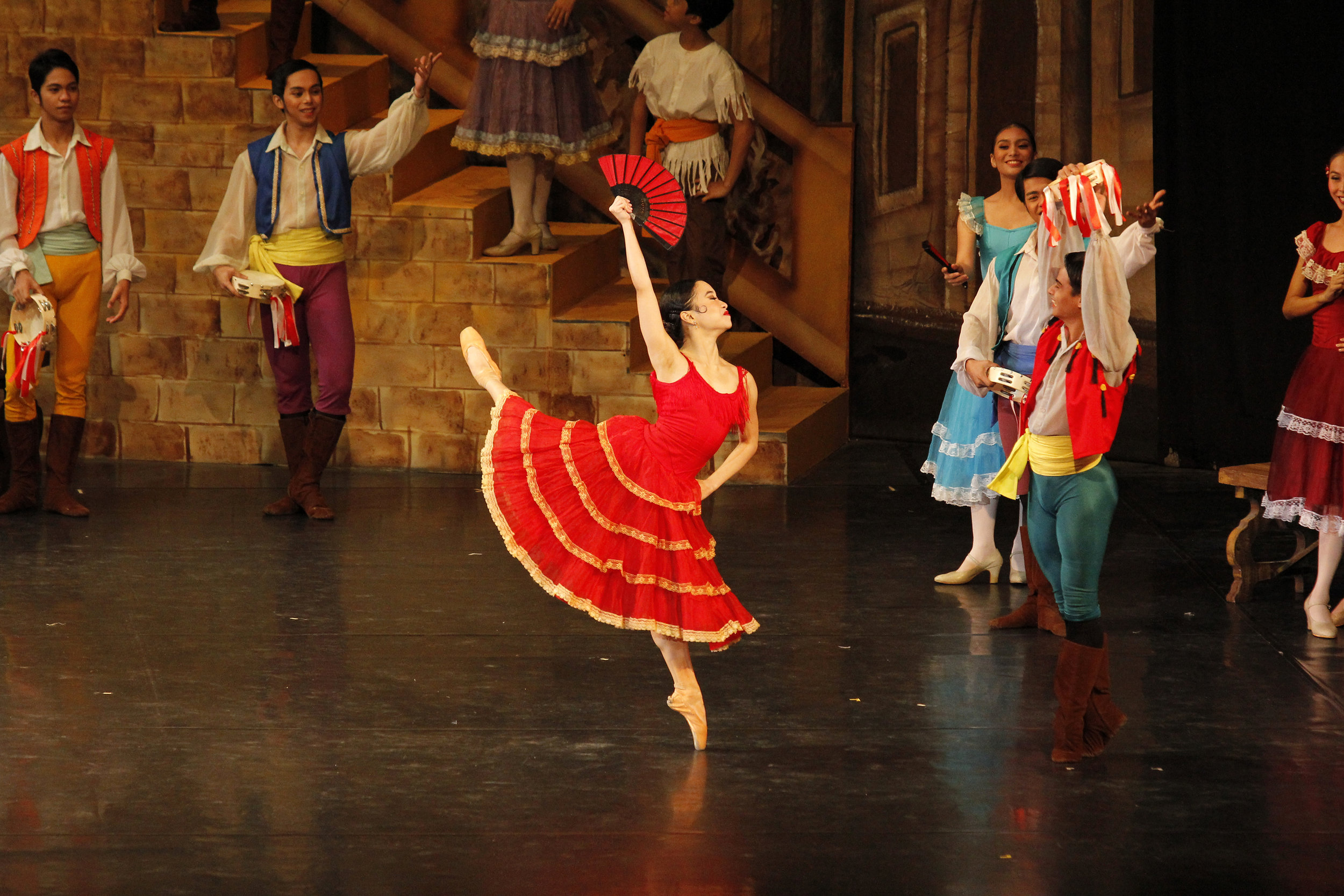 Dancing as Kitri in the full-length  Don Quixote  in 2017 was a good fit for Pia as she is feisty in real life. Photo by Ocs Alvarez