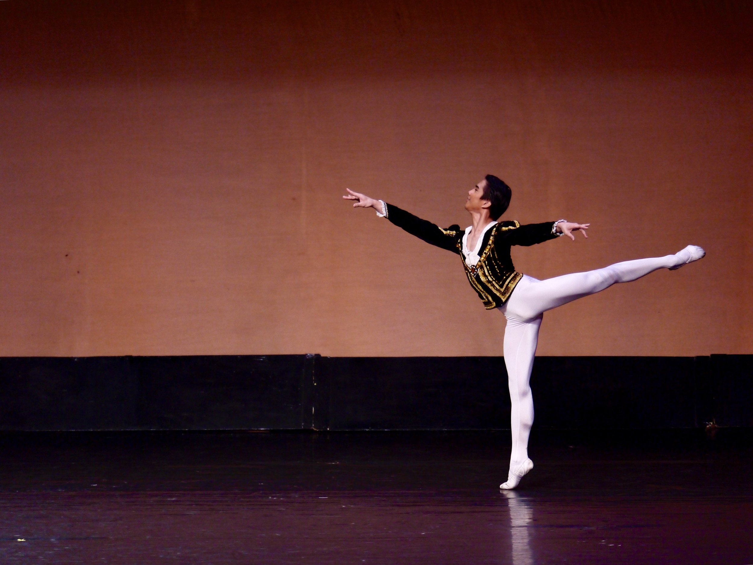 Brian Sevilla, Siegfried variation,  Swan Lake  Act 3