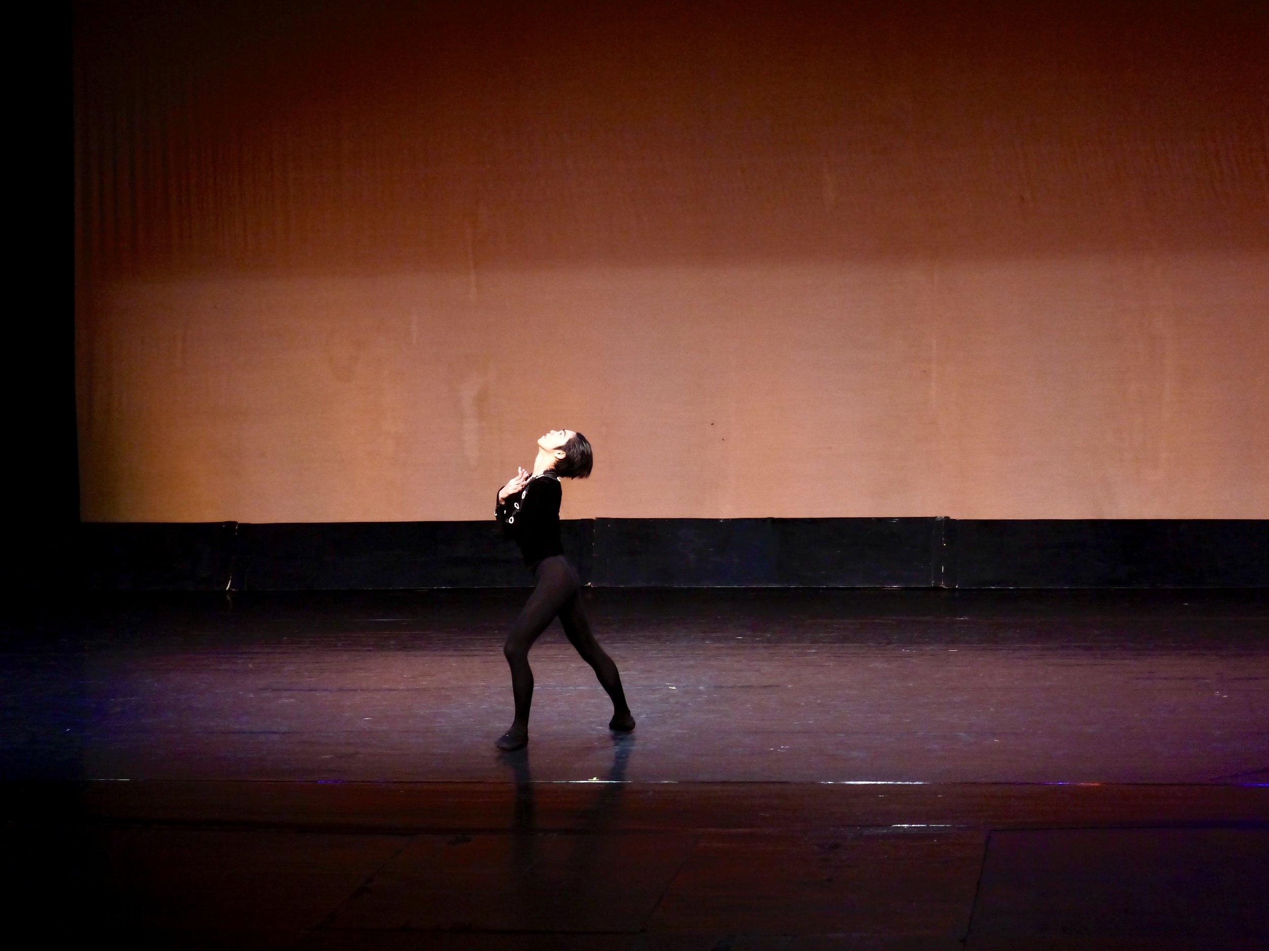 Alvin Dictado, Albrecht variation,  Giselle  Act 2