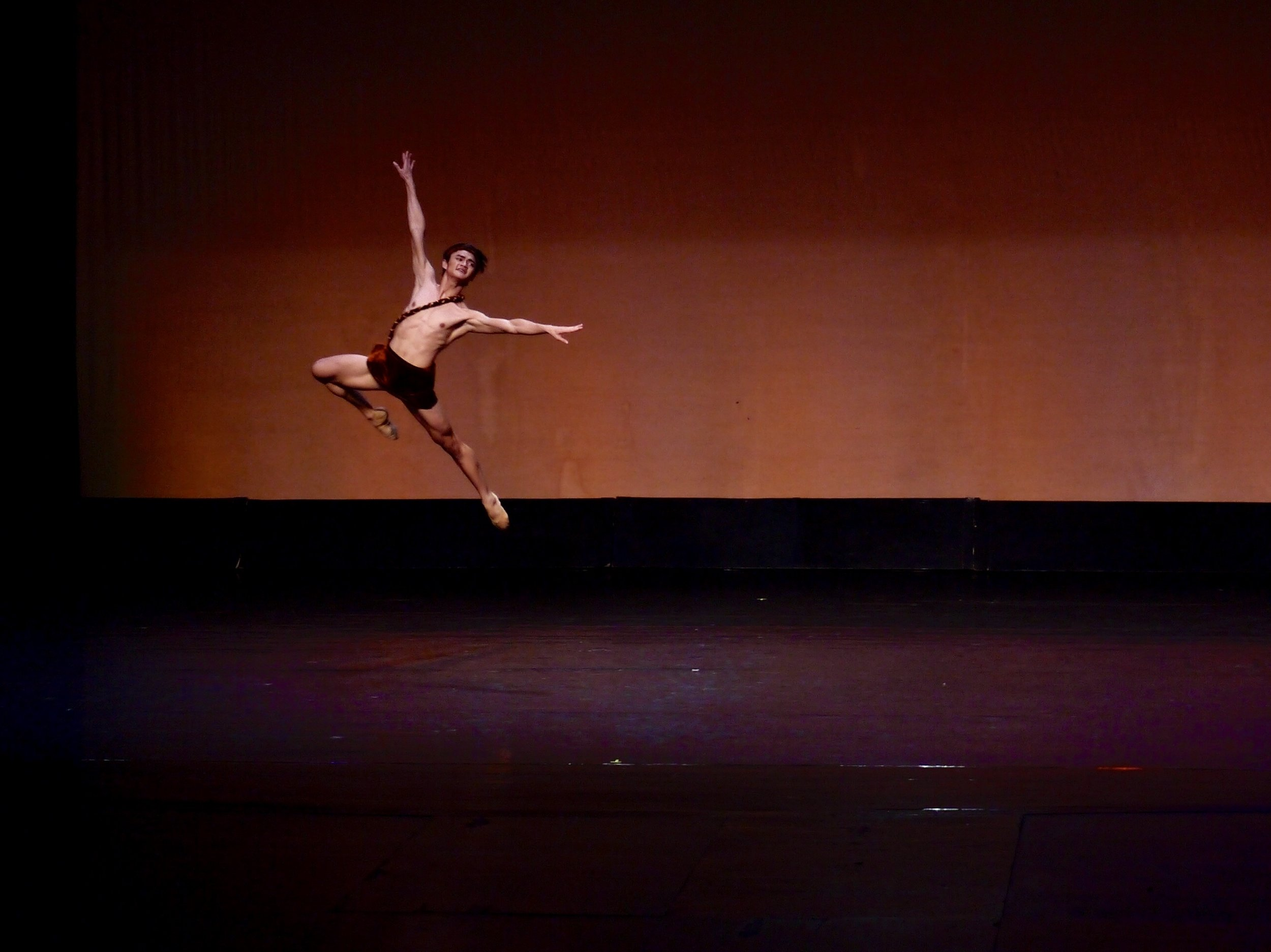 Joshua Enciso delivers a powerful performance of the Acteon variation from  Diana et Acteon .
