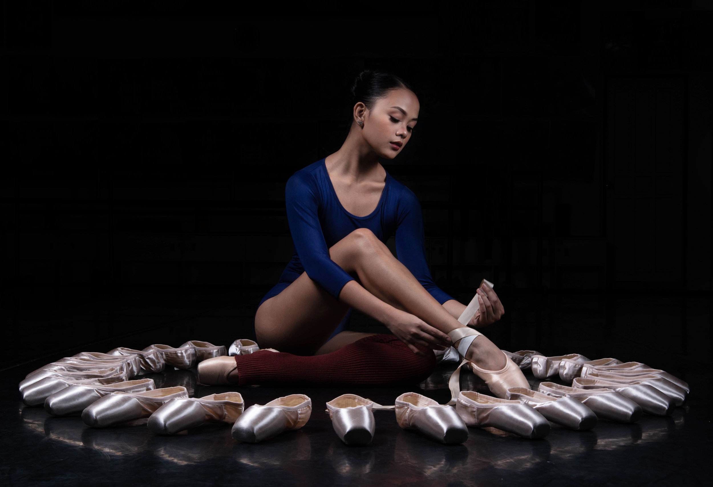 Ballet Dictionary: Pointe Shoes - Ballet Manila Archives