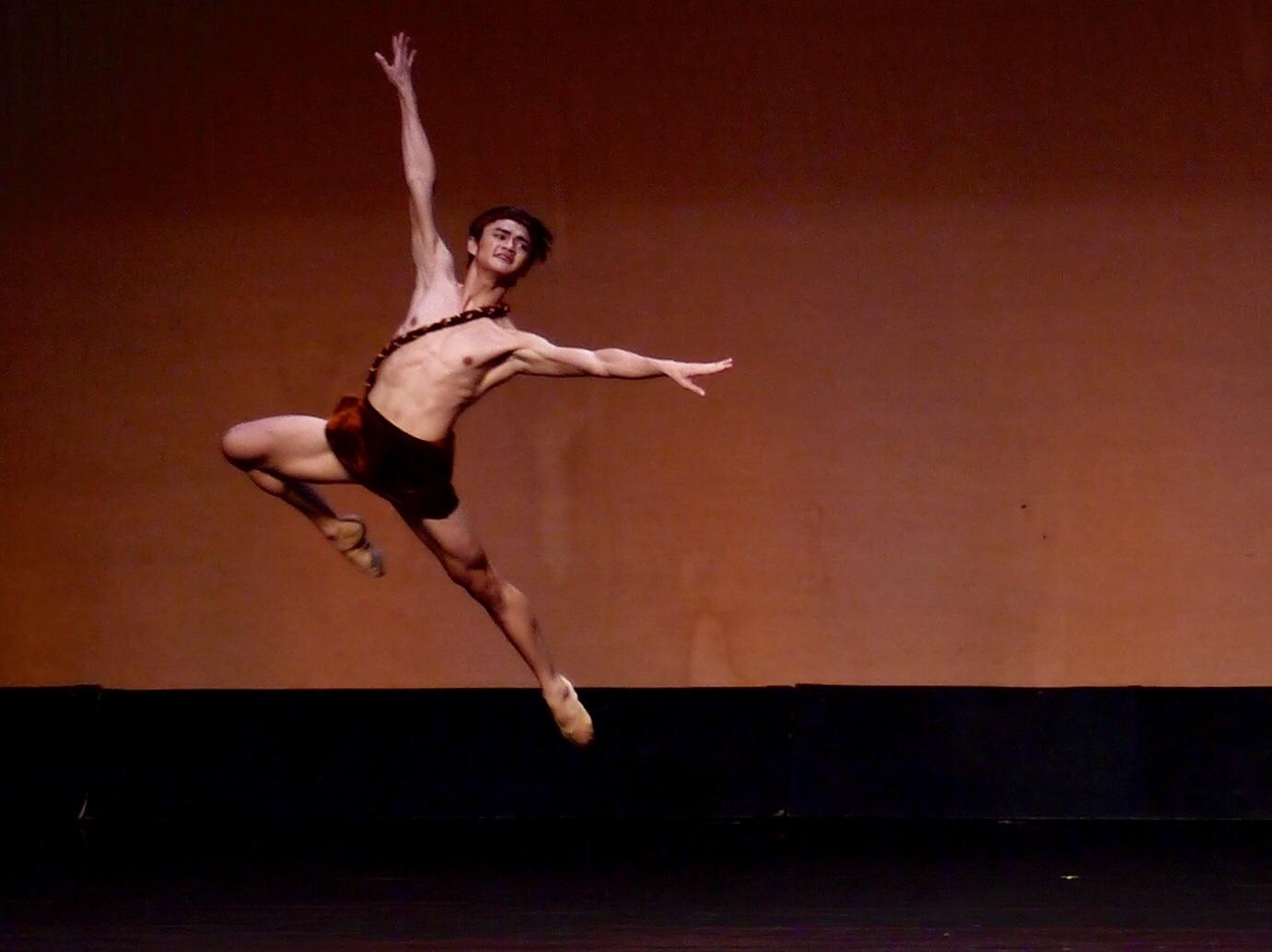 Joshua Rey Enciso - With Ballet Manila since 2015