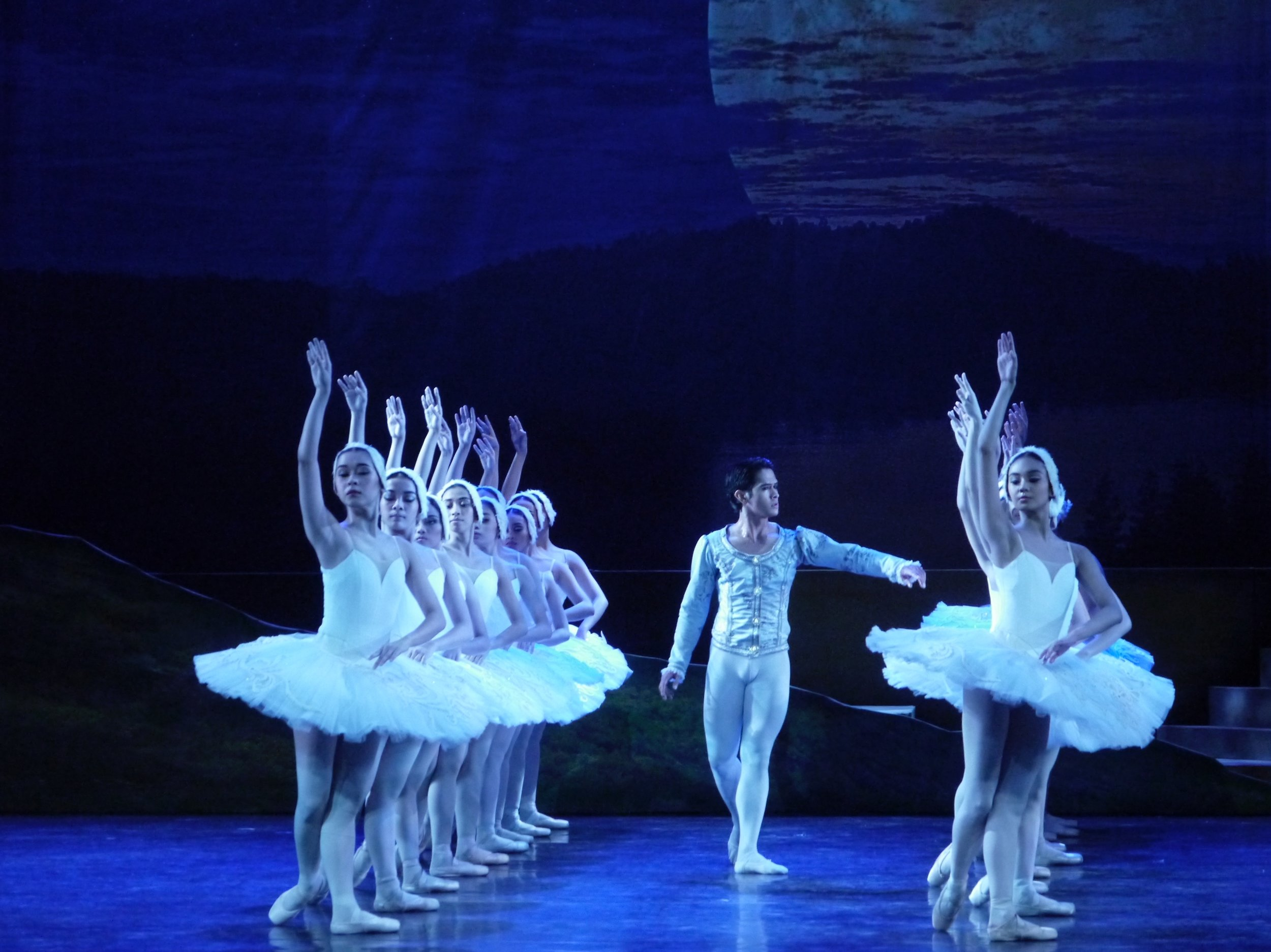 Principal dancer      Rudy De Dios      is Prince Siegfried in  Swan Lake  (2017). Photo by Giselle P. Kasilag