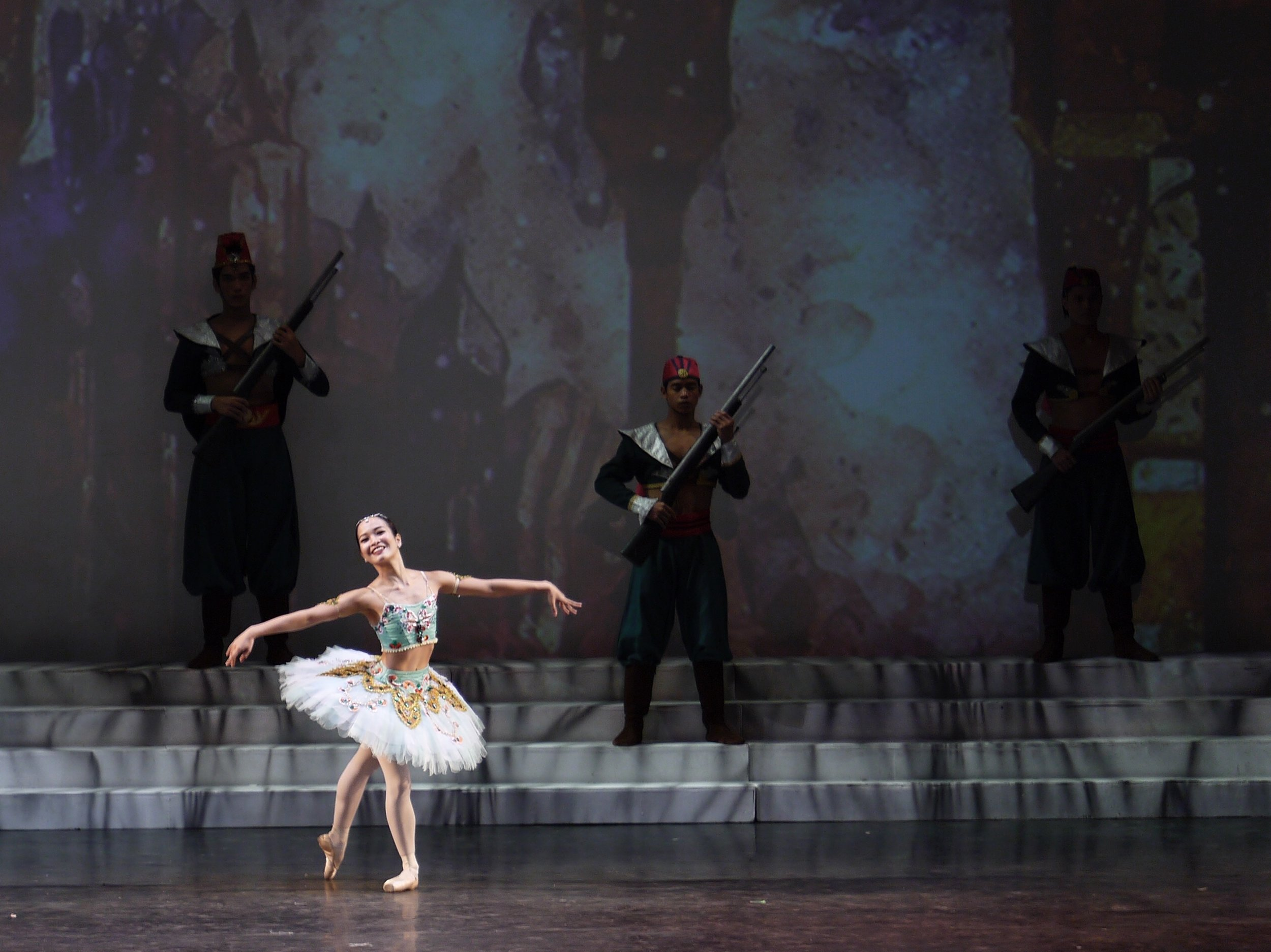 The goal is to find the technique to be consistent as a dancer, says Pearl, seen here in the Odalisque variation in  Le Corsaire . Photo by Giselle P. Kasilag