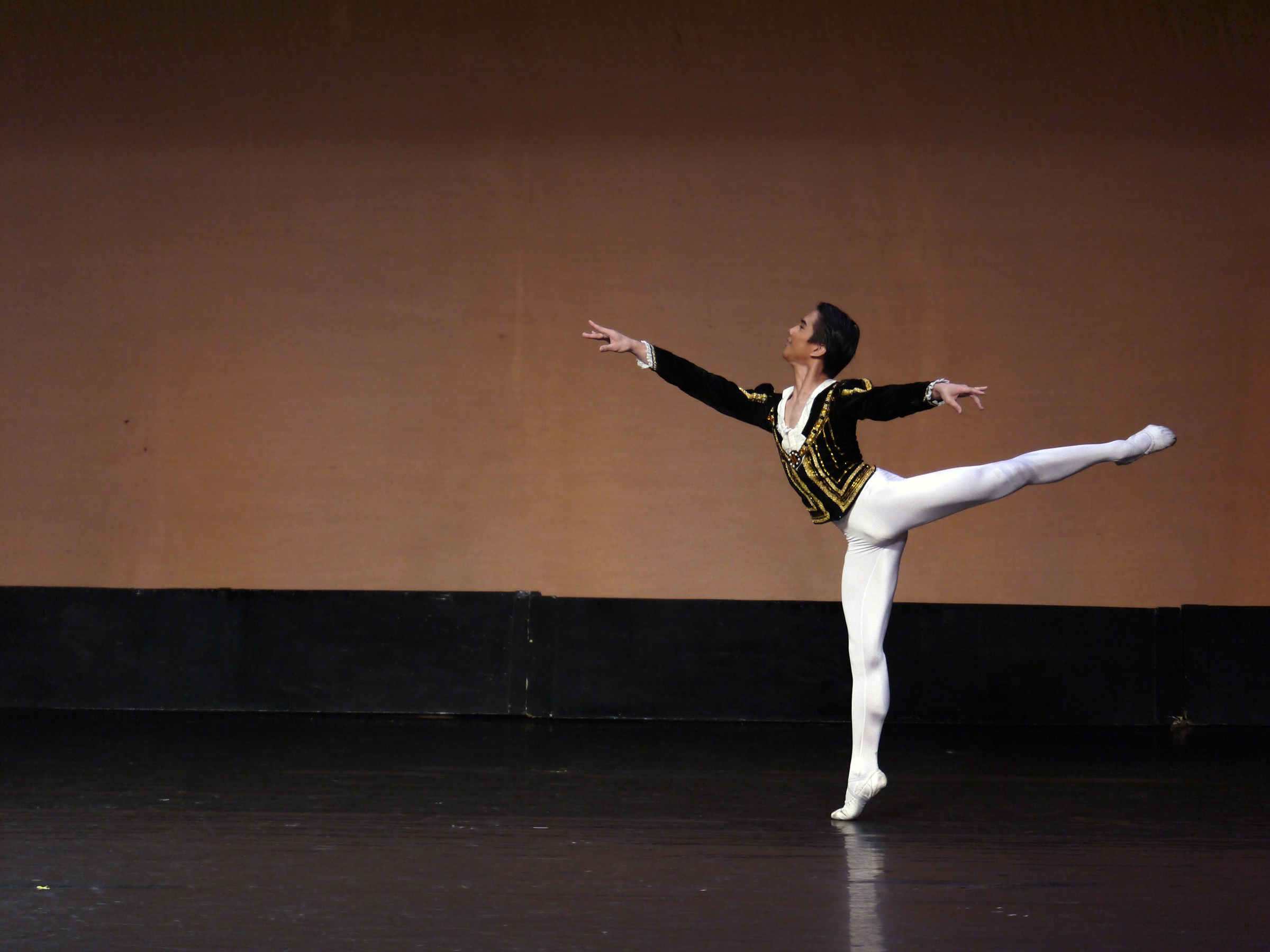 Brian Sevilla, dancing as Siegfried, won gold in the CCP Ballet Competition.