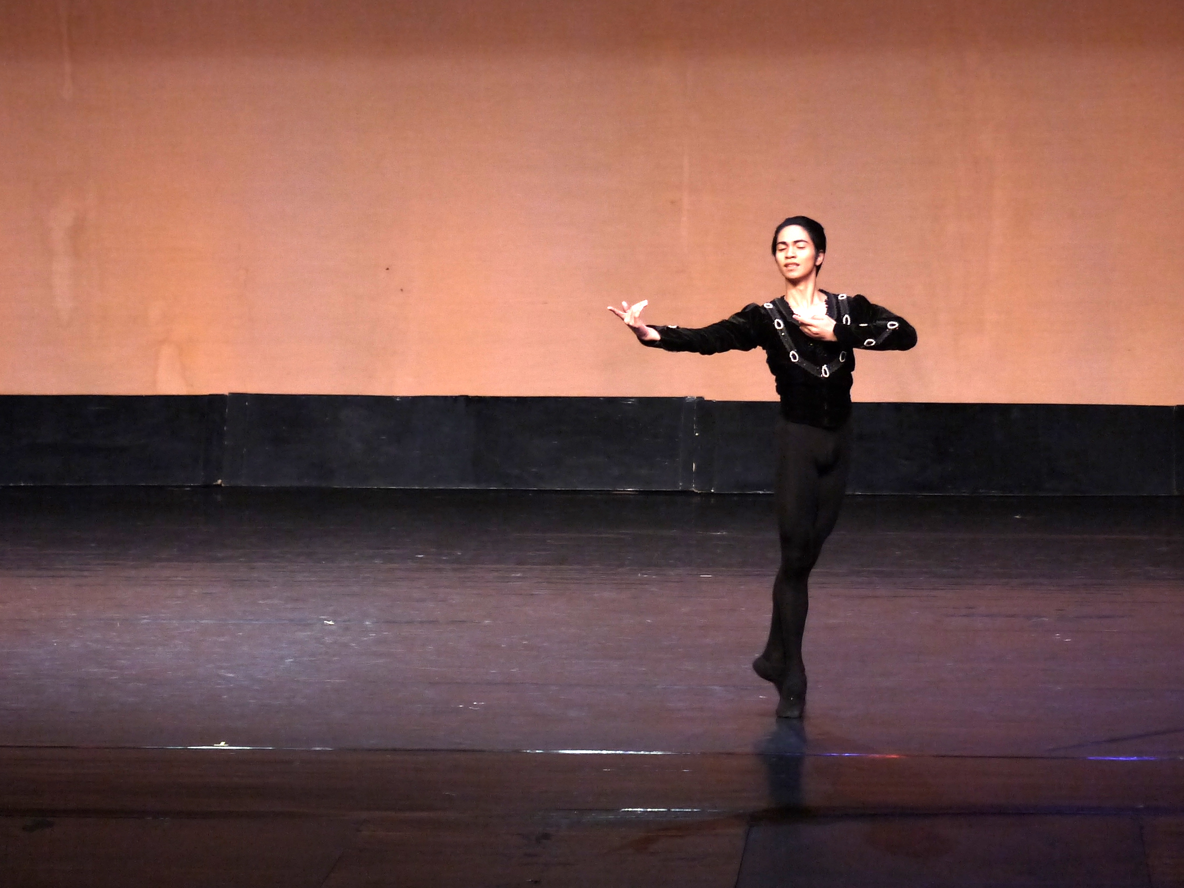 Alvin Dictado bagged the bronze in the CCP Ballet Competition, with the Albrecht variation as his classical piece.