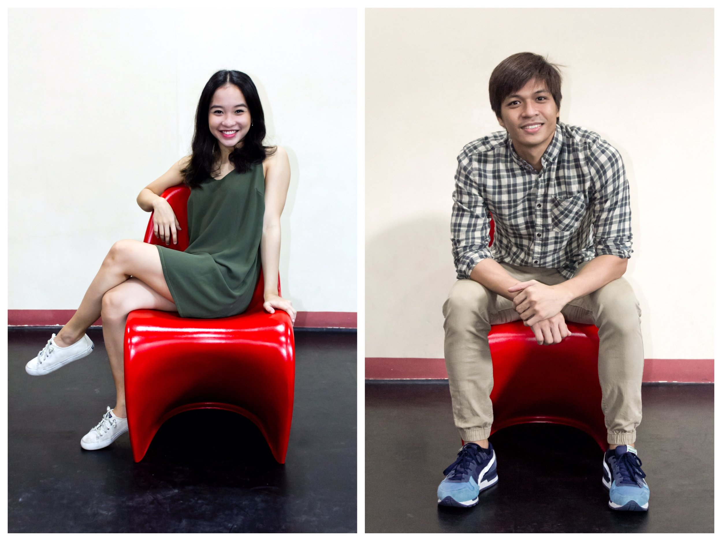 Jasmine Pia Dames and Mark Sumaylo are the newly promoted principal dancers of Ballet Manila. Photos by Jimmy Villanueva