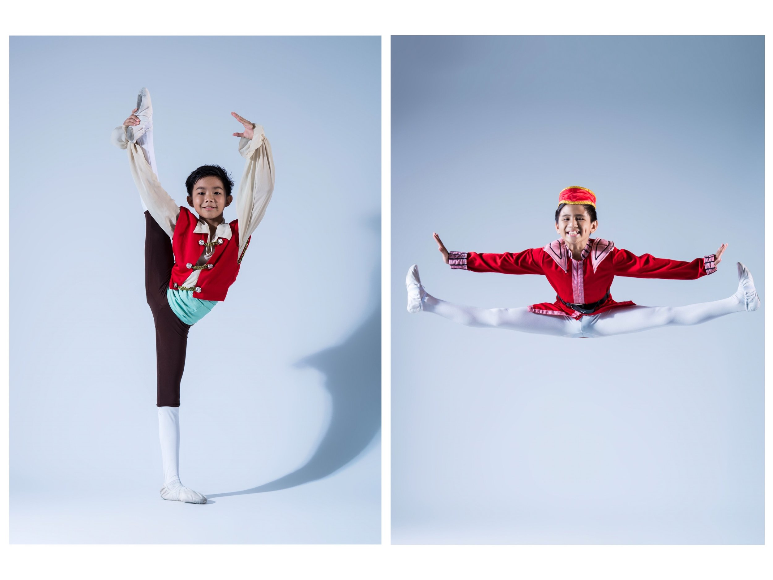 Germaine Dawal and Juan Angelo De Leon, both scholars of Ballet Manila's Project Ballet Futures, will compete in Pre-Competitive A. Photos by MarBi Photography