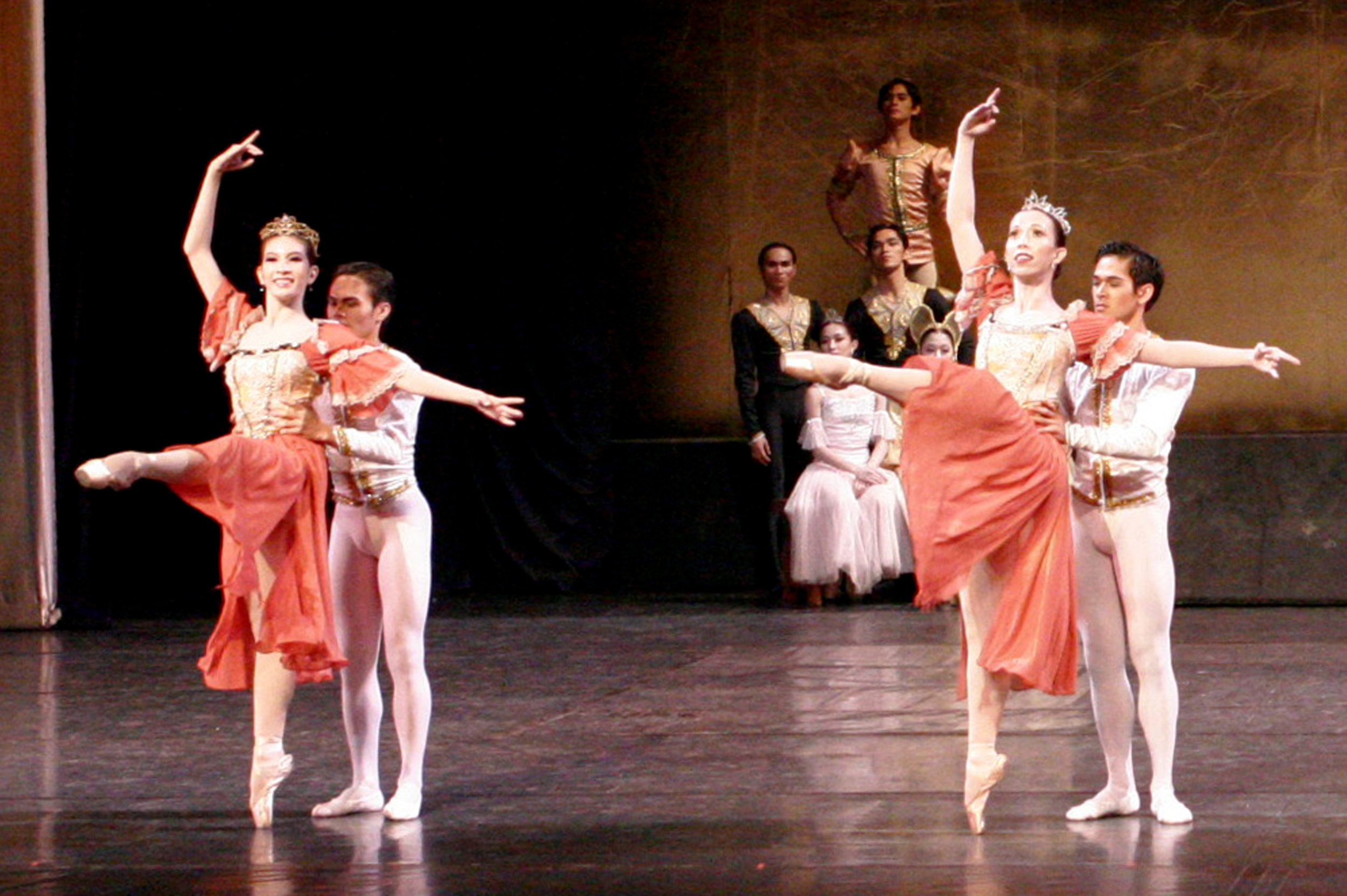 Promoted to company artist in 2005, Rudy danced in various classical productions. He is seen in this photo partnering Eileen Lopez In  Swan Lake . Photo by Ocs Alvarez