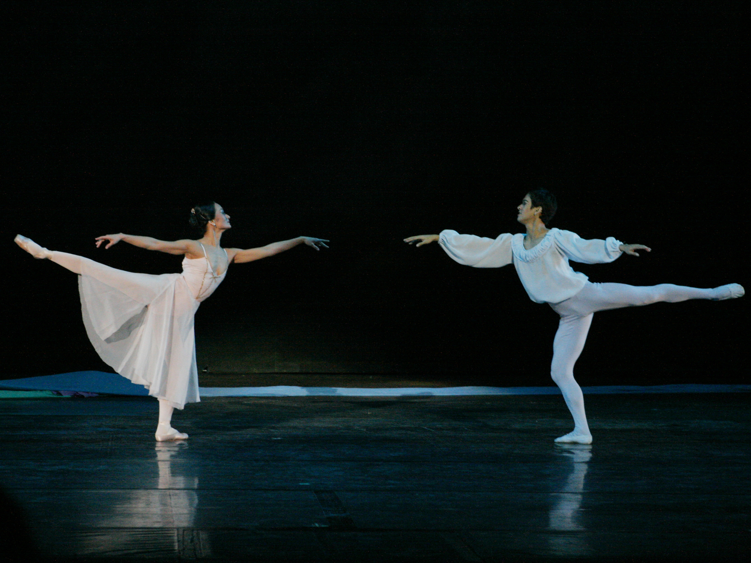 Rudy has been the Romeo to Lisa's Juliet many times. They began dancing this choreography in 2006. Photo by Ocs Alvarez.