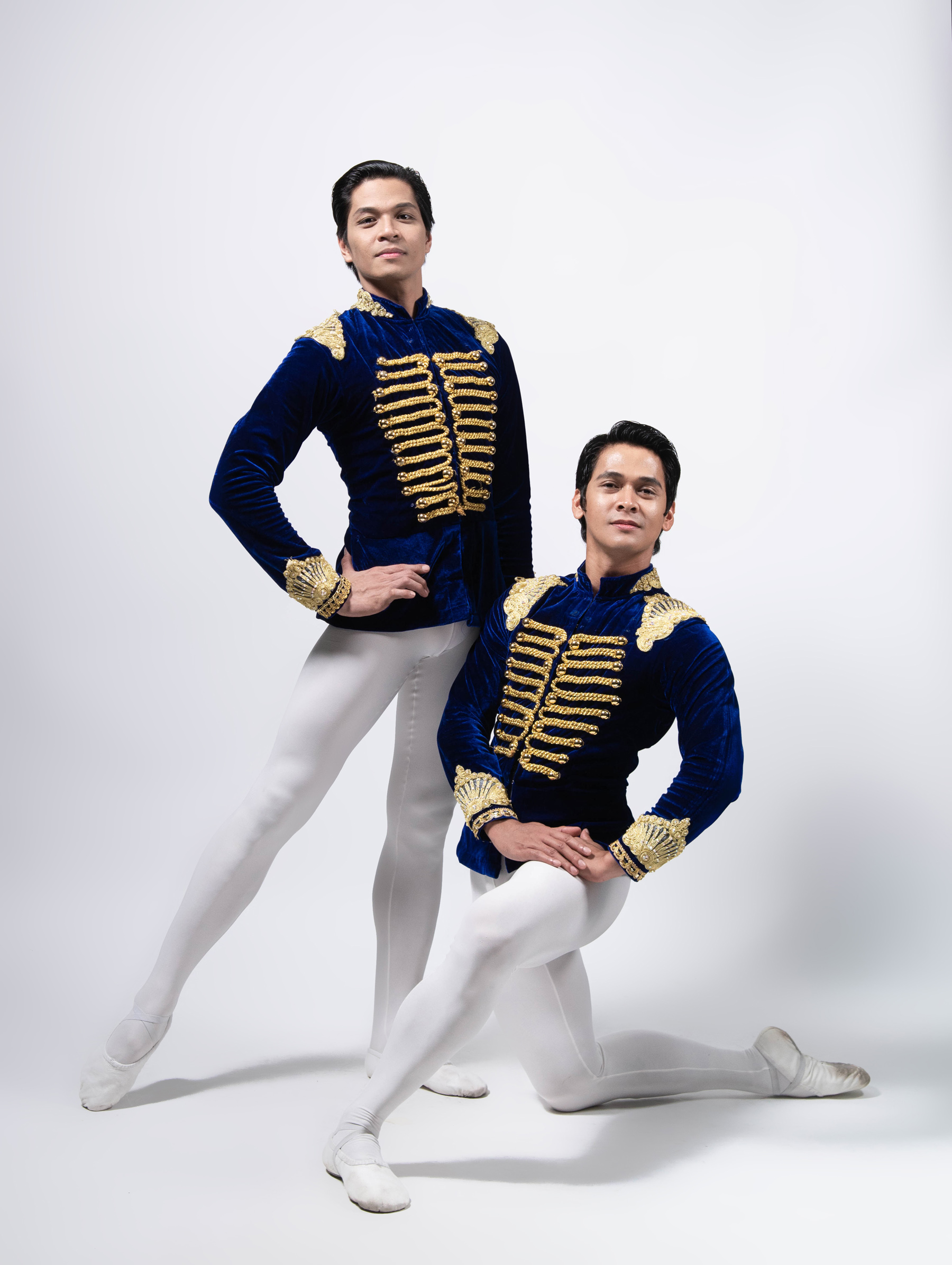 Rudy and recently promoted principal dancer Mark Sumaylo alternated as Prince Charming in Lisa Macuja-Elizalde's  Cinderella . Photo by MarBi Photography