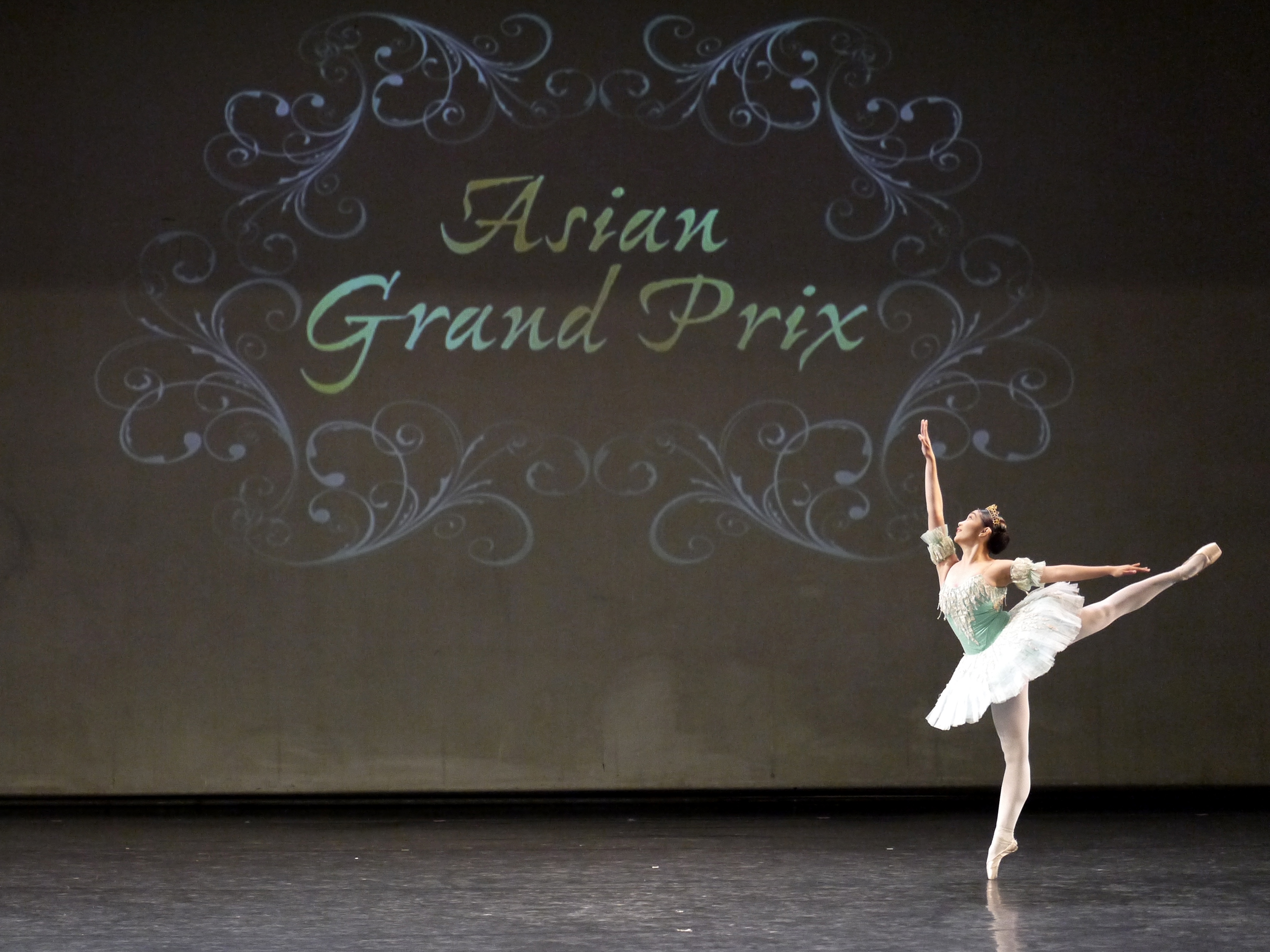 Monique Valera, first place, Junior B, dances the Queen of Dryads Variation from  Don Quixote . Photo by Giselle P. Kasilag