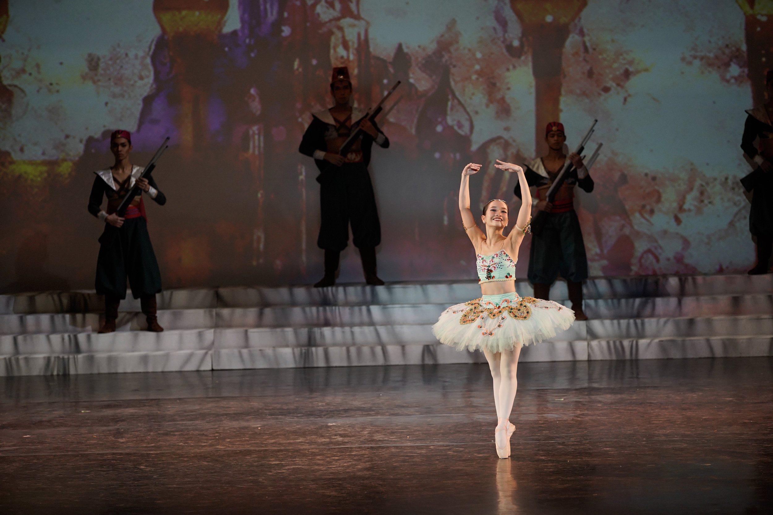 After being sidelined by injury, Jessica Pearl Dames came back with a bang in Ballet Manila's 23rd season. Among her performances was the Odalisque variation in  Le Corsaire.  Photo by Ian Santos