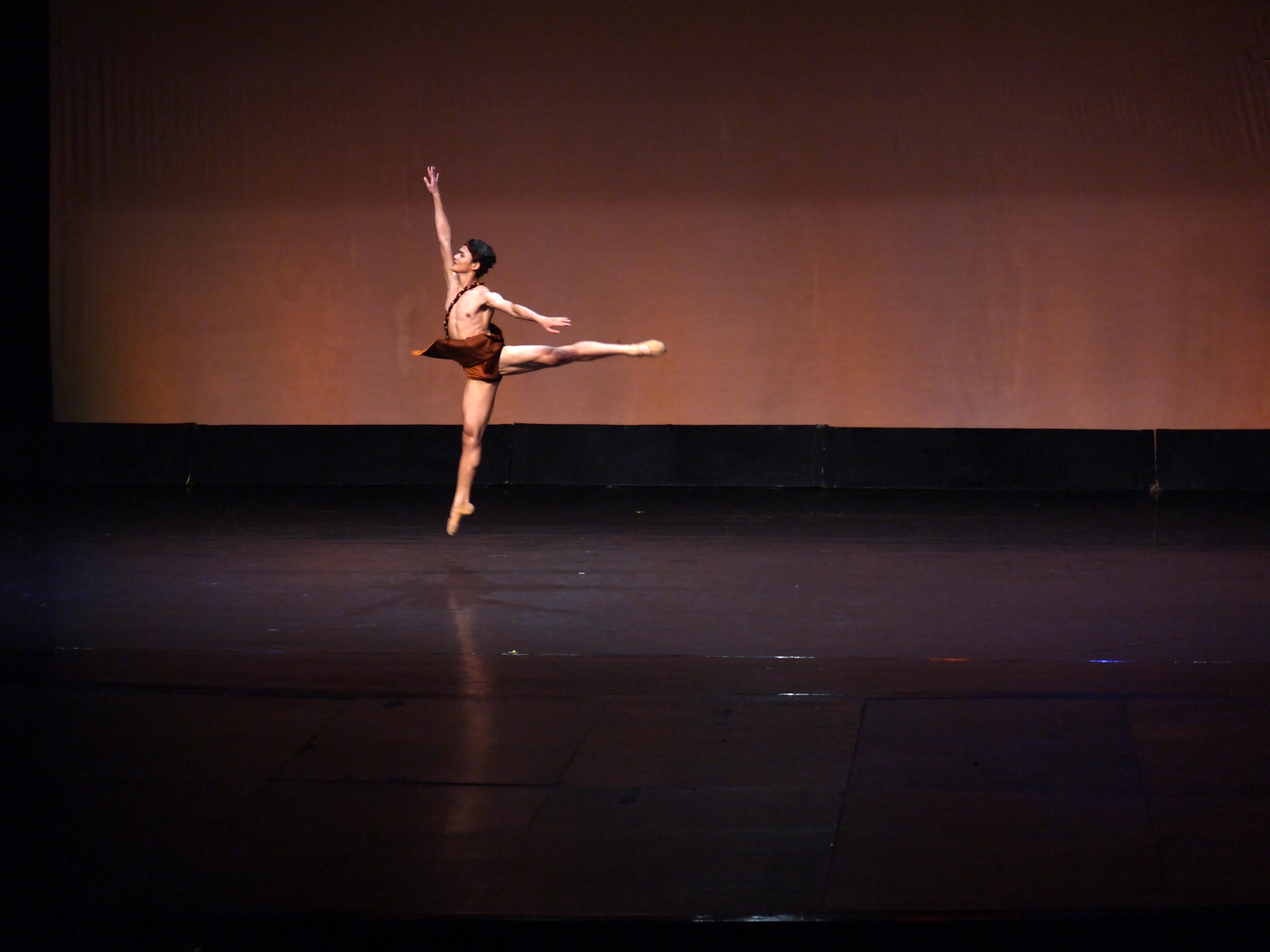Performing the  Acteon  variation at the Cultural Center of the Philippines Ballet Competition, Joshua wowed the audience and was named first prize winner in the senior category. Photo by Giselle P. Kasilag