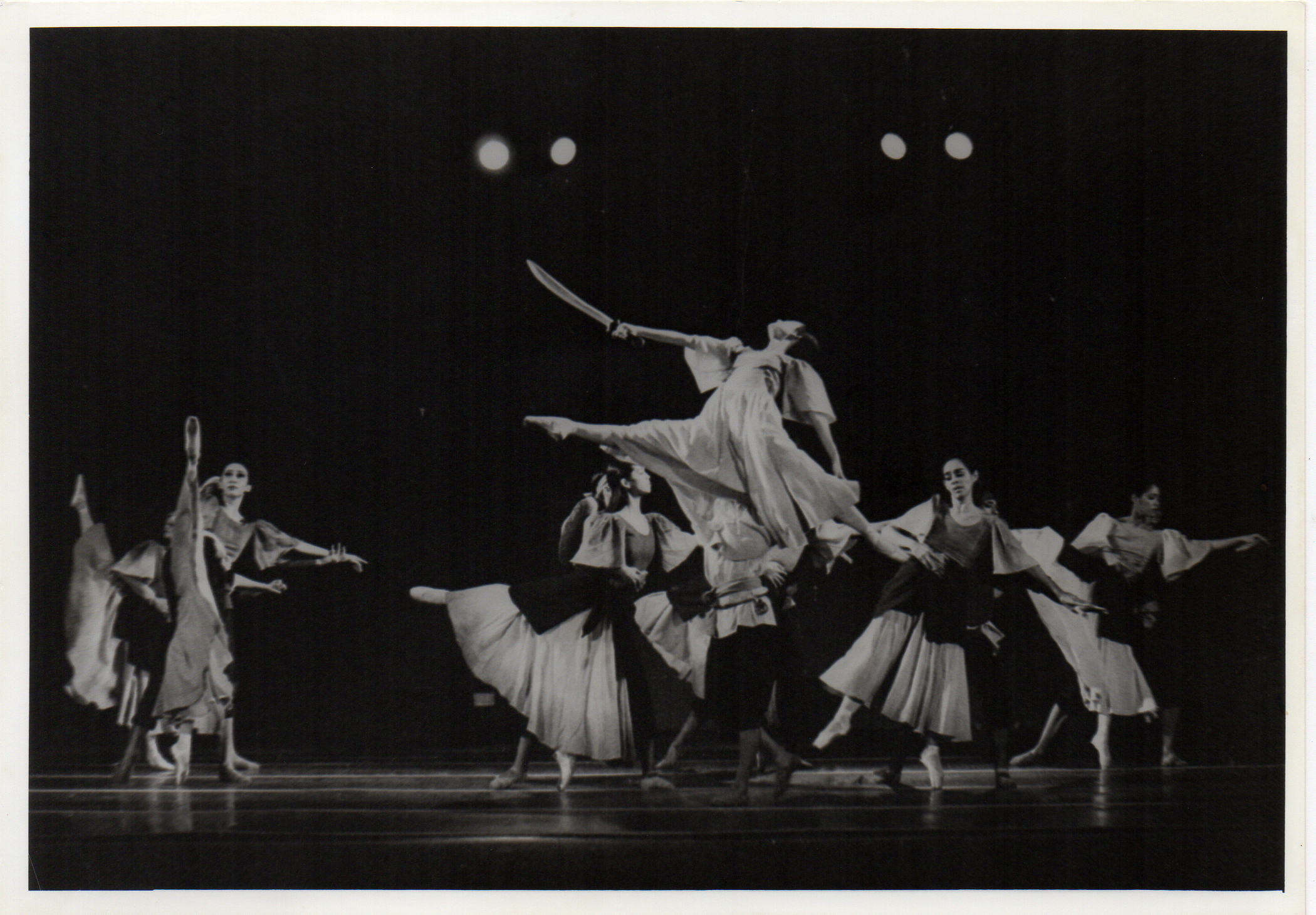 A scene from  Gabriela ng Vigan.  Photo from the Ballet Manila Archives collection