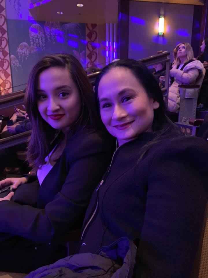 Last April, Lisa attended the program in Boston where Missy was honored as one of the 34 Purple Key Leadership Awardees of Emerson College. Photo from Lisa Macuja-Elizalde's Facebook page