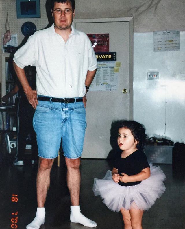 David Harris was there when daughter Emma took her first ballet steps.