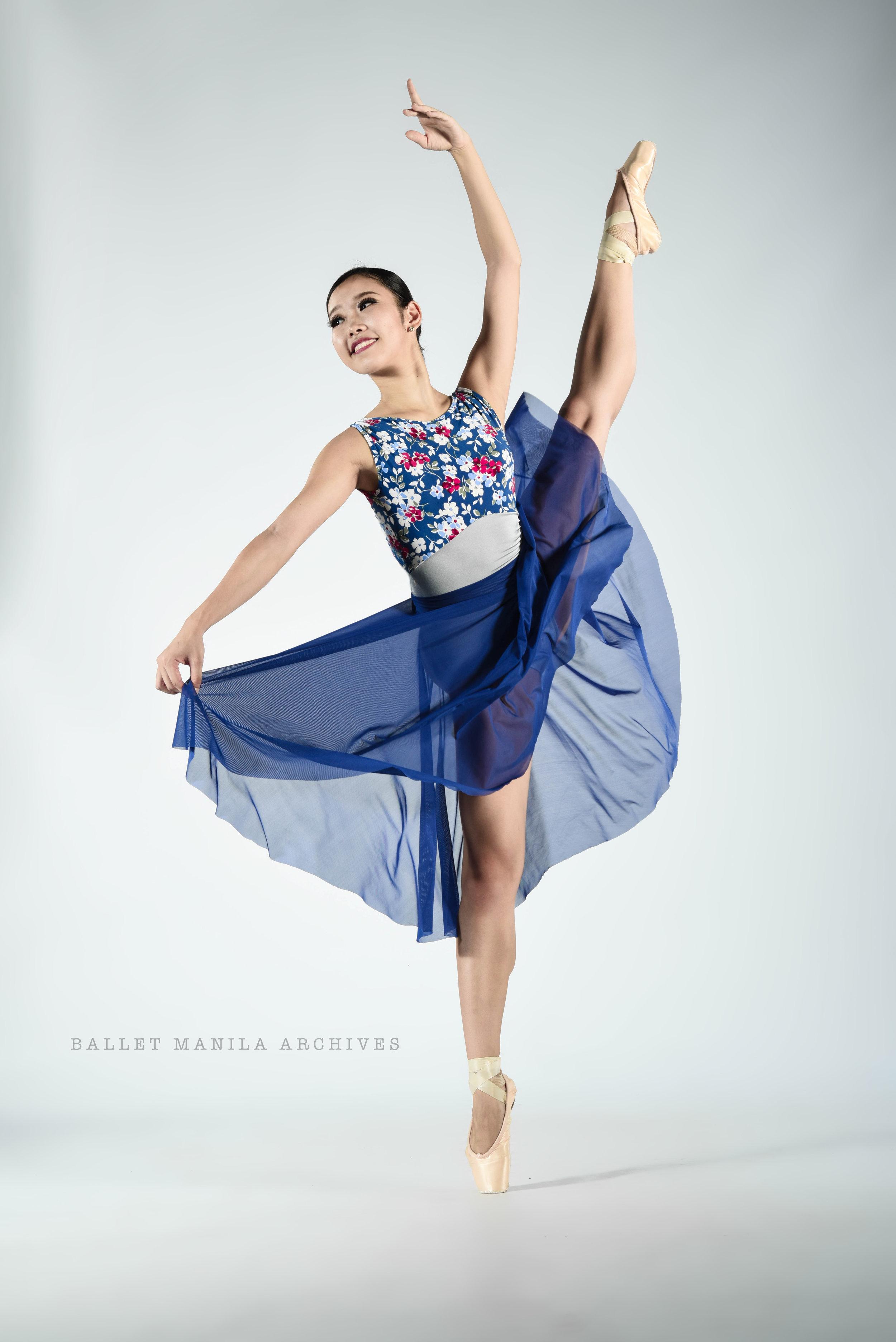Ballet Dictionary: Écarté Derrière 1 - Ballet Manila Archives