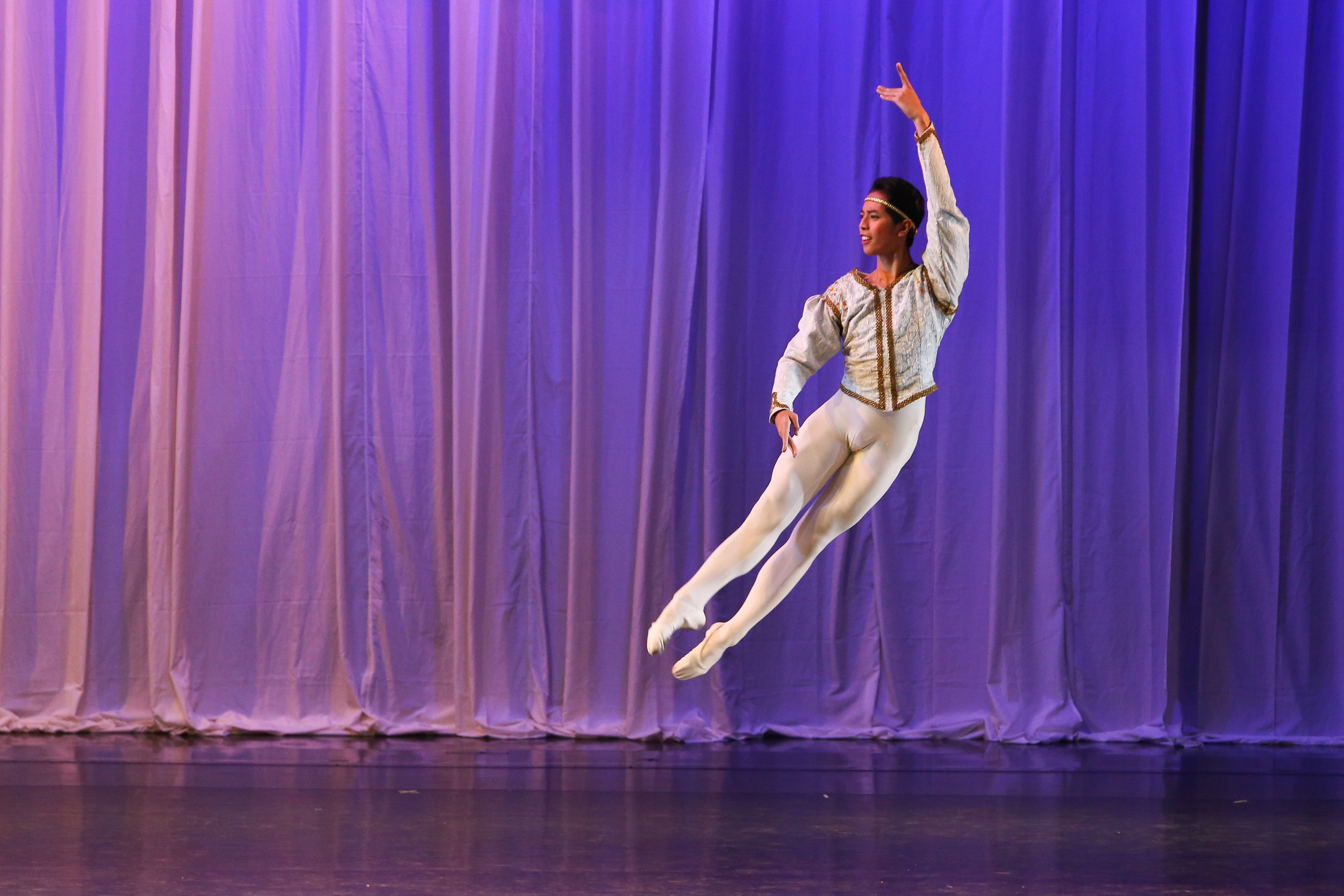 Rodney Catubay was a Tuloy Foundation scholar trained by Academy One who is now a company artist of Ballet Manila. Photo by Ian Santos