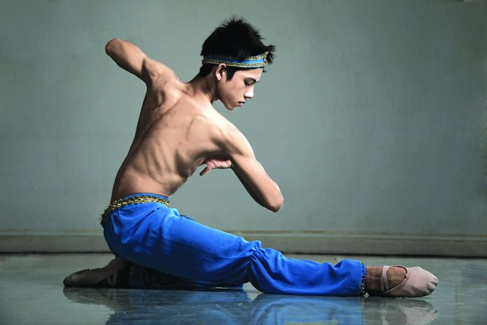Benedict Sabularse, a Tuloy Foundation scholar, has been signed up by Ballet Preljocaj in France. Photo by Ernest Mandap