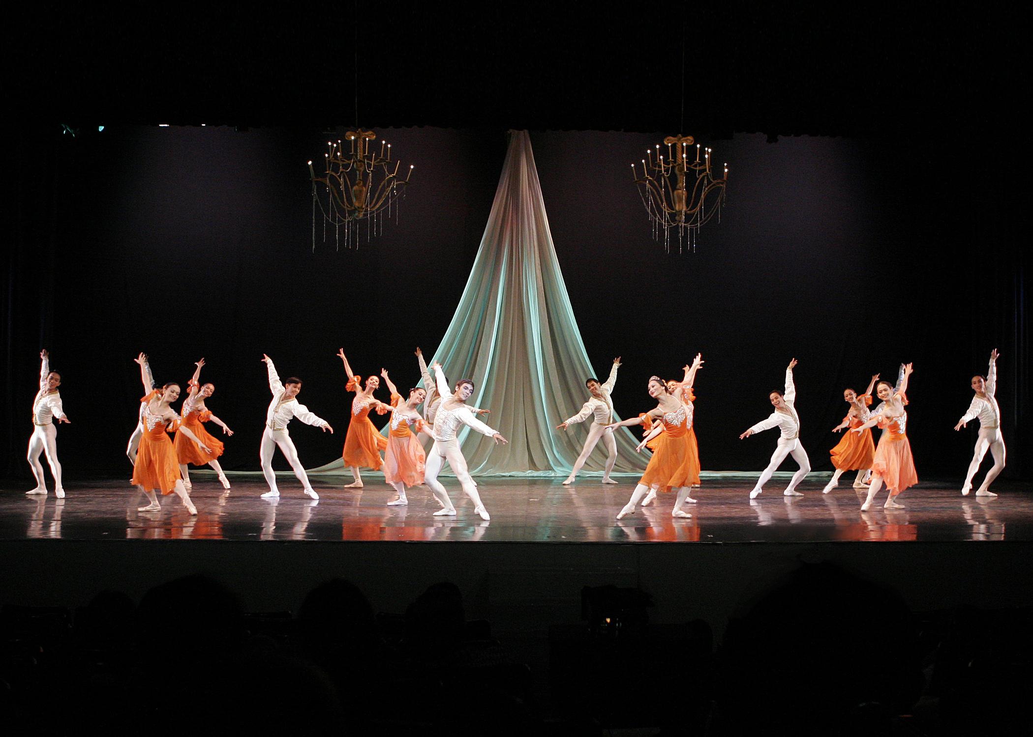 Ballet Manila in Tony Fabella's  Dancing to Verdi.  Photo by Ocs Alvarez