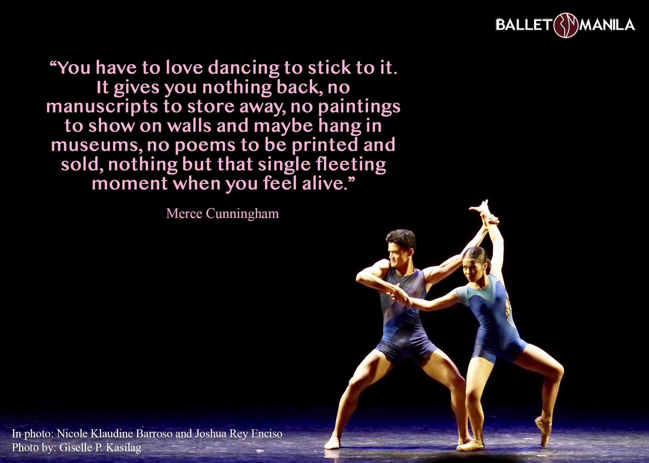 Talk about dance: Merce Cunningham 1 - Ballet Manila Archives