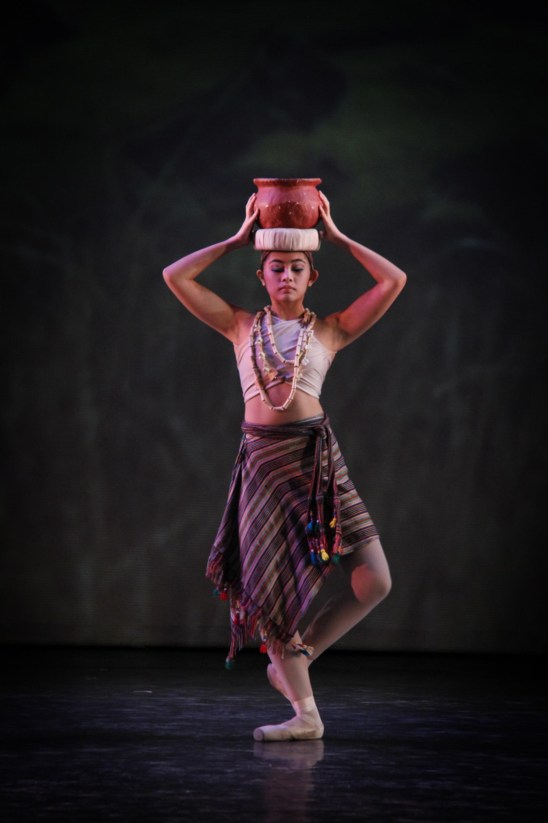 Dancing in  Kay Ganda ng Ating Musika , 2014. Photo by Ocs Alvarez